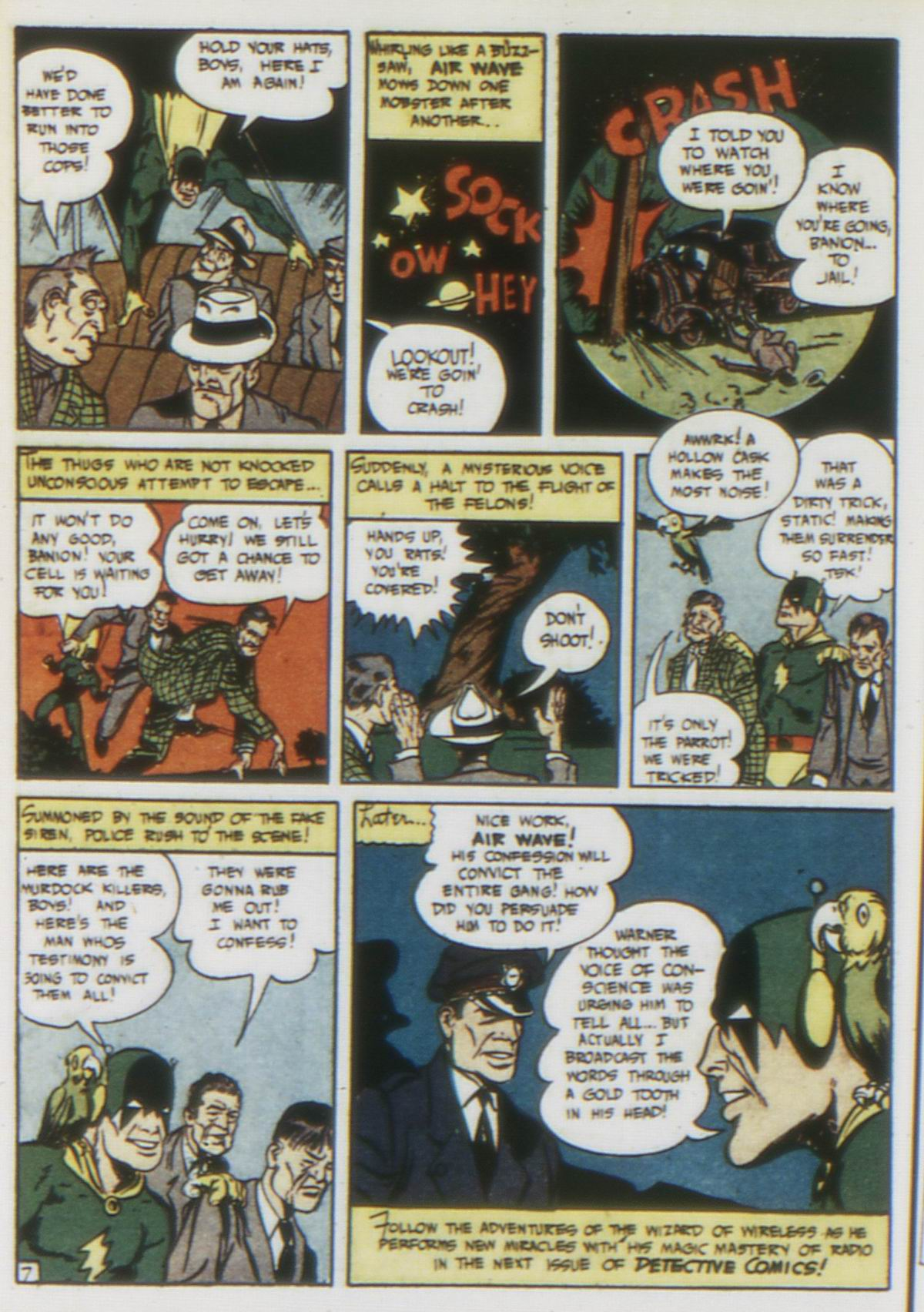 Read online Detective Comics (1937) comic -  Issue #75 - 56