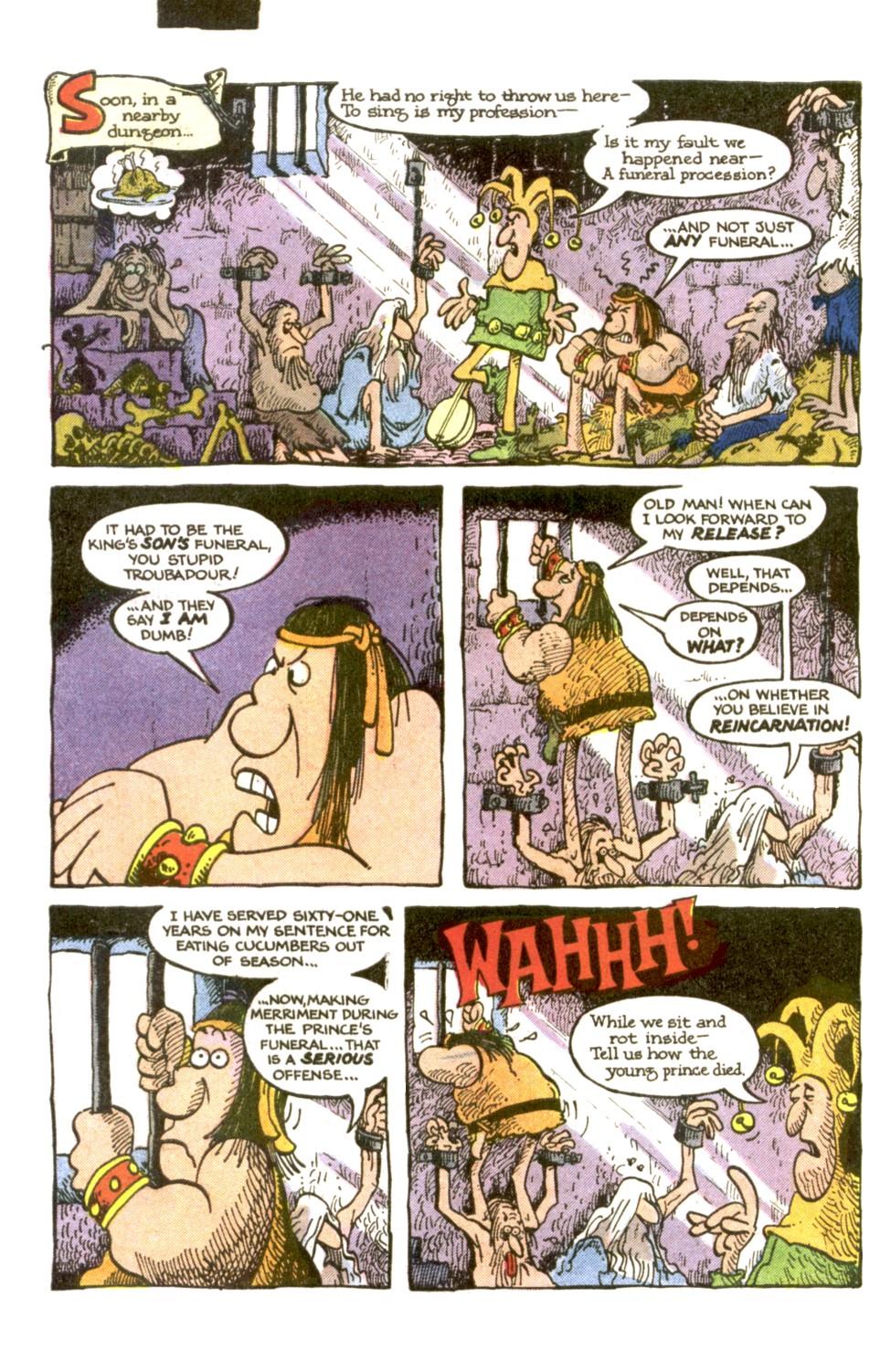 Read online Sergio Aragonés Groo the Wanderer comic -  Issue #2 - 4