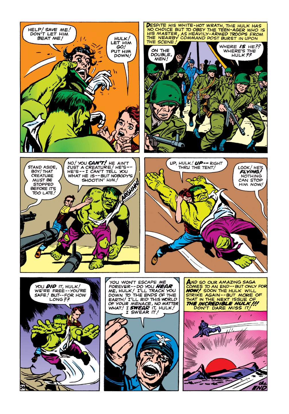 Read online Marvel Masterworks: The Incredible Hulk comic -  Issue # TPB 1 (Part 1) - 77