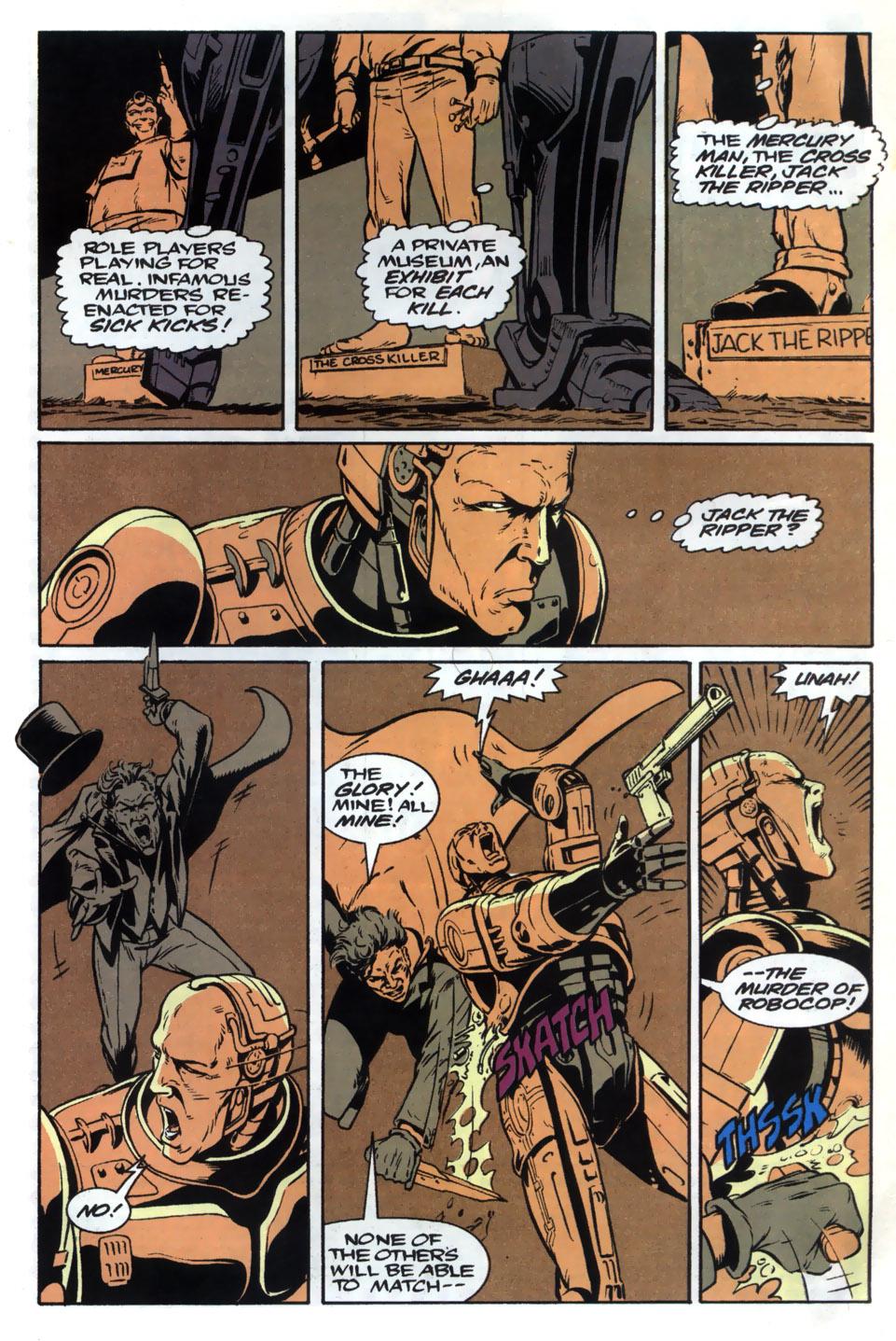 Read online Robocop (1990) comic -  Issue #20 - 21