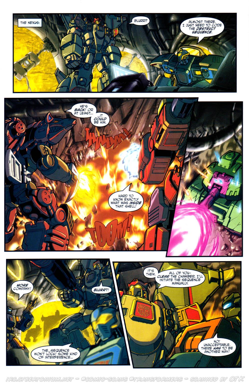 Read online Transformers Armada comic -  Issue #17 - 14