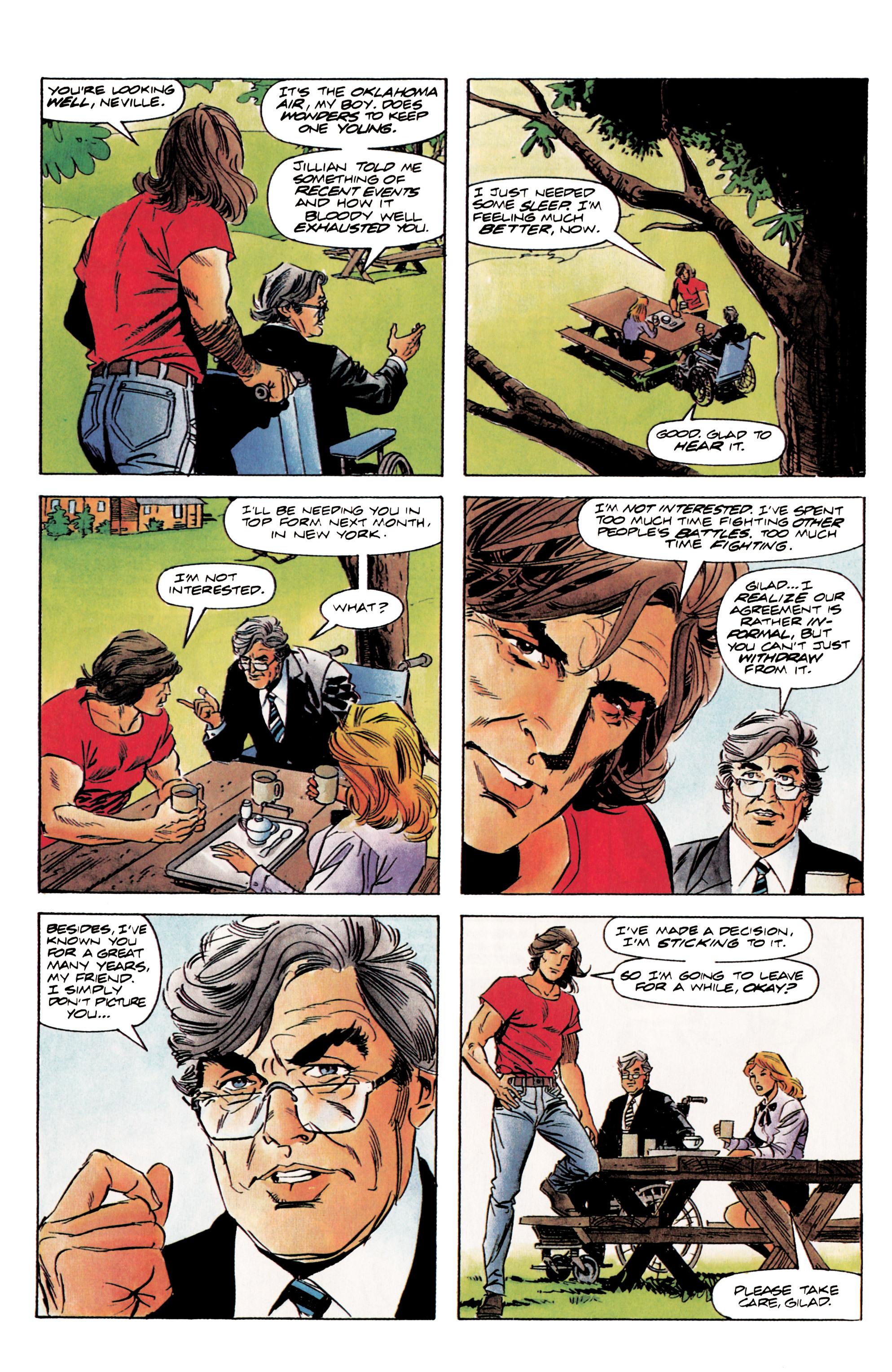 Read online Eternal Warrior (1992) comic -  Issue #3 - 10