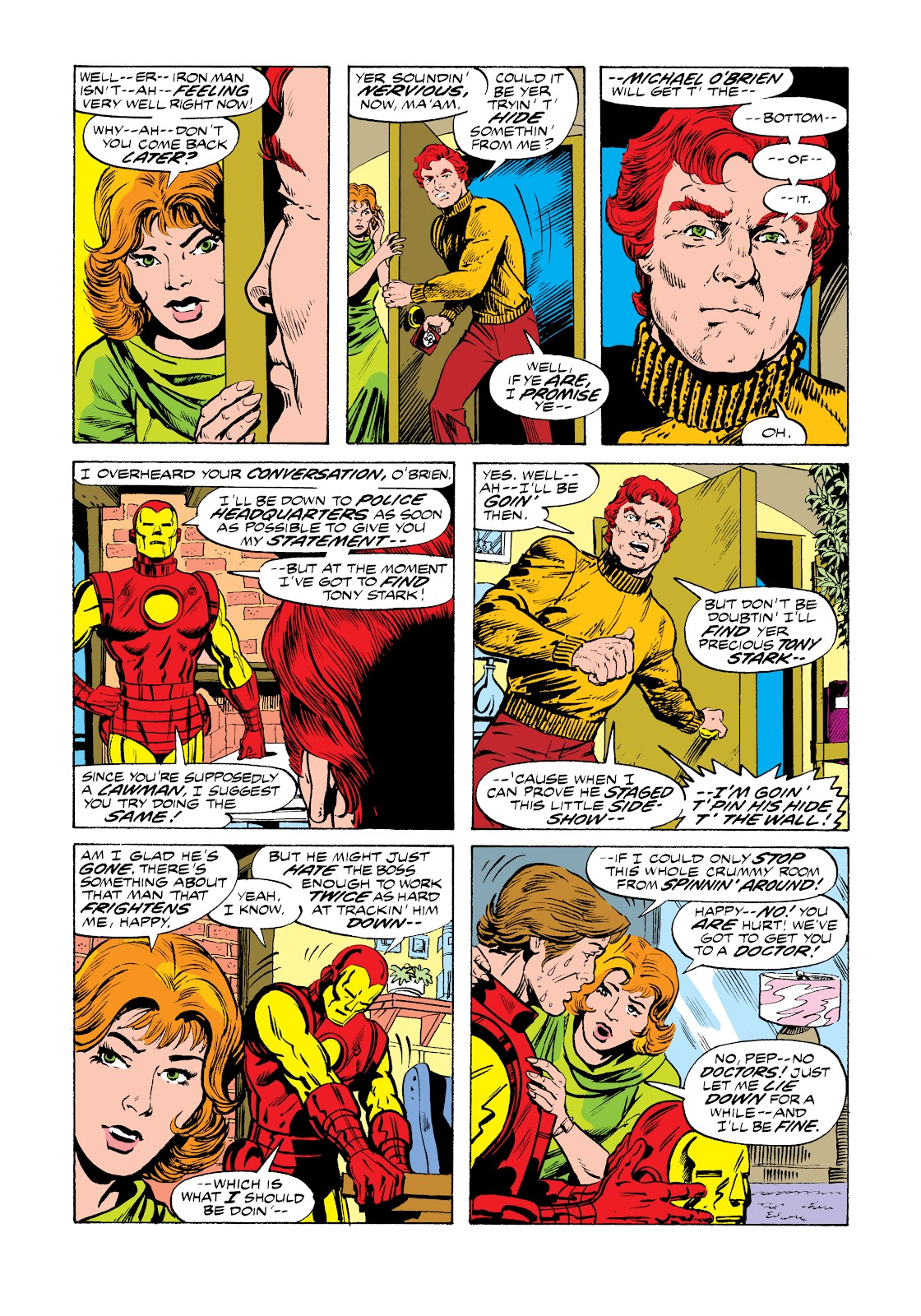 Read online Marvel Masterworks: The Invincible Iron Man comic -  Issue # TPB 11 (Part 1) - 32