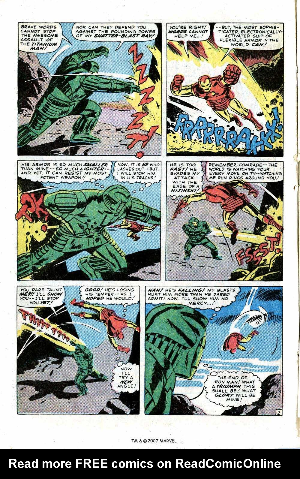 Iron Man Annual issue 1 - Page 4