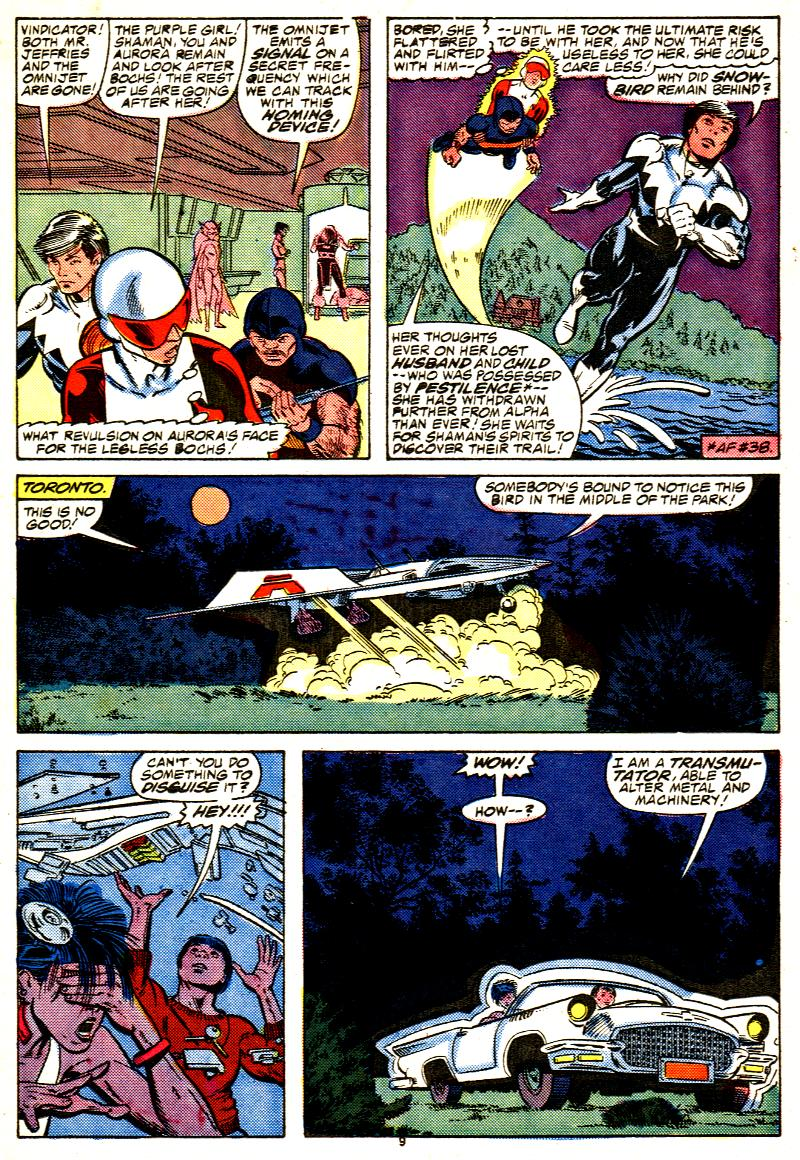 Read online Alpha Flight (1983) comic -  Issue #42 - 10