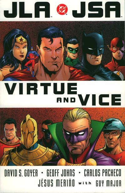 Read online JLA/JSA: Virtue and Vice comic -  Issue # TPB - 3