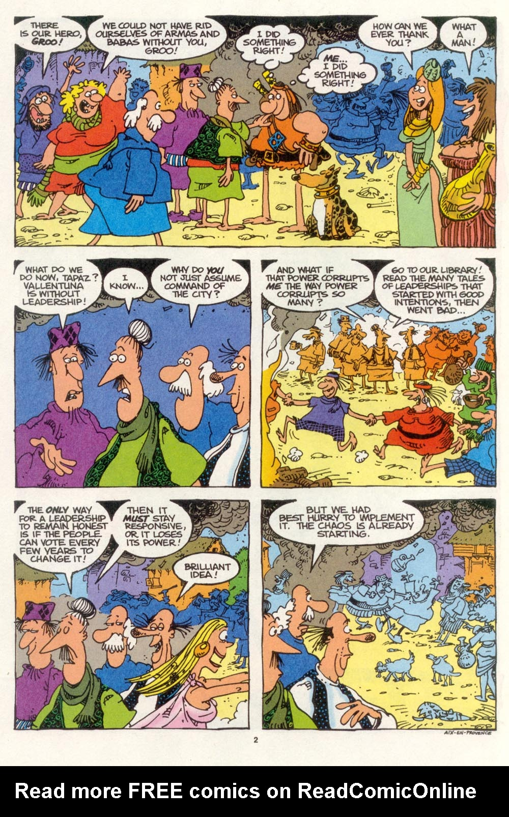 Read online Sergio Aragonés Groo the Wanderer comic -  Issue #108 - 4