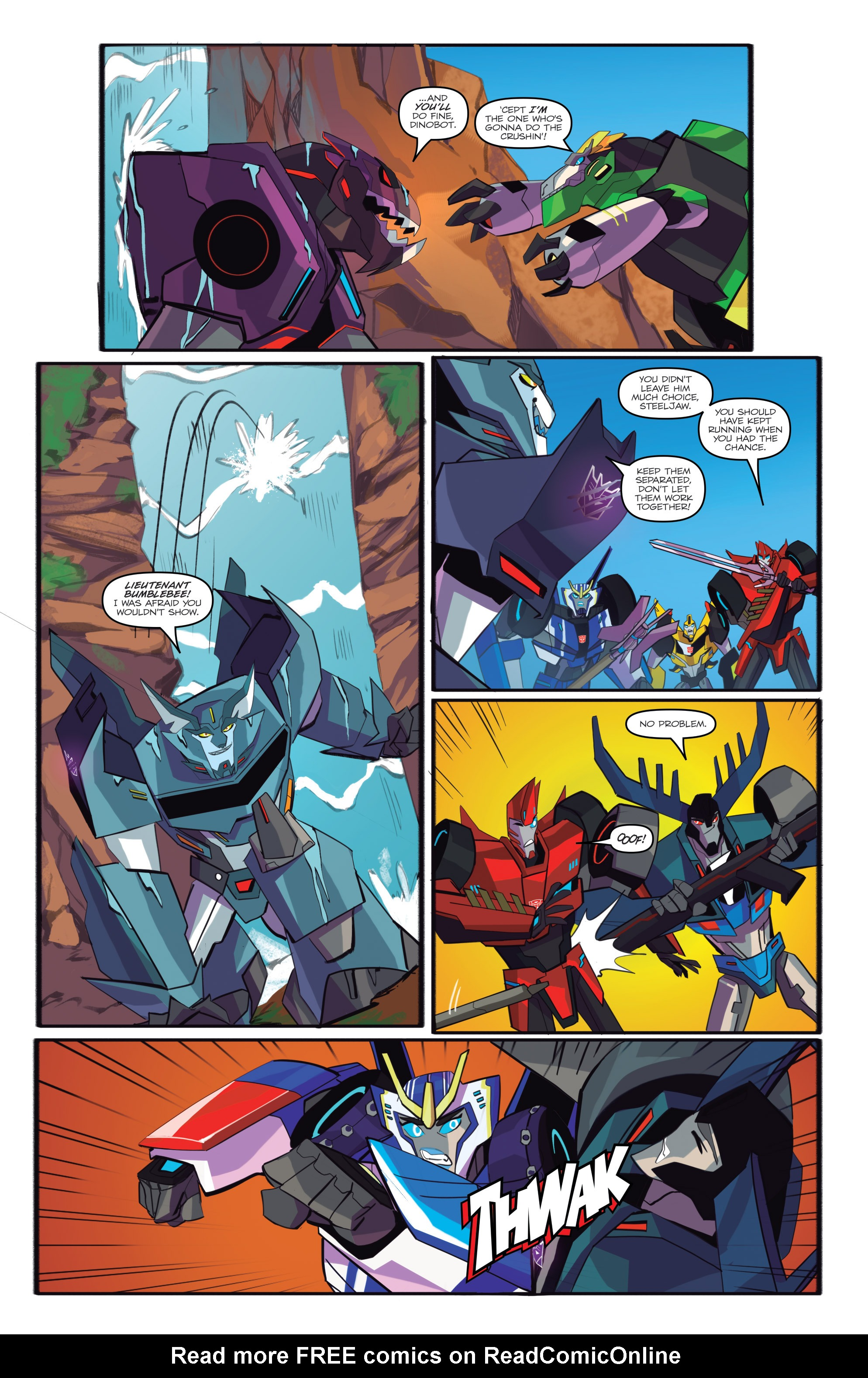 Read online Transformers: Robots In Disguise (2015) comic -  Issue #6 - 16