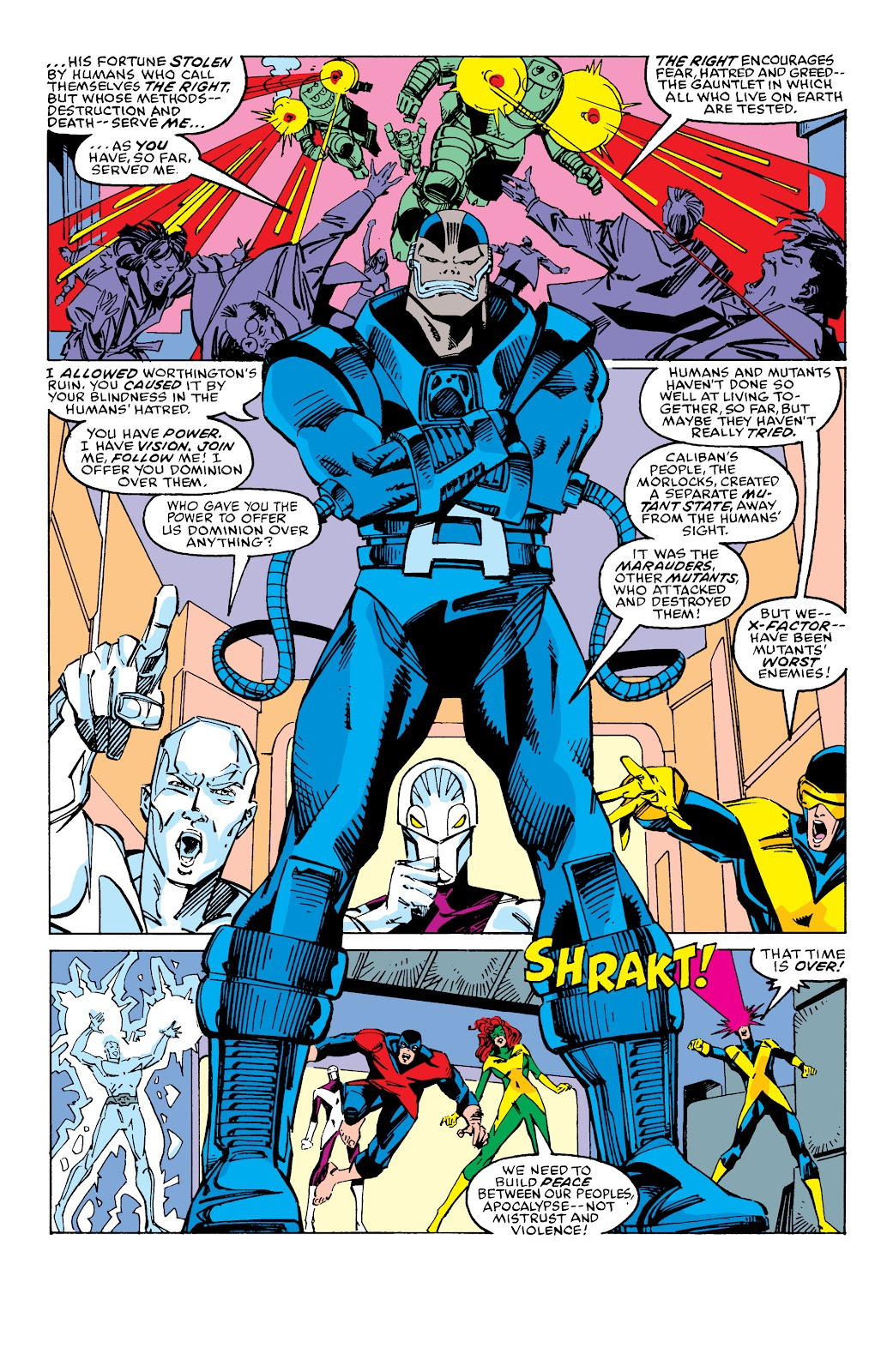 Read online X-Men Milestones: Fall of the Mutants comic -  Issue # TPB (Part 2) - 87