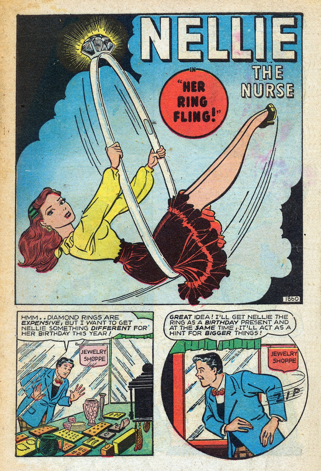 Read online Nellie The Nurse (1945) comic -  Issue #14 - 3