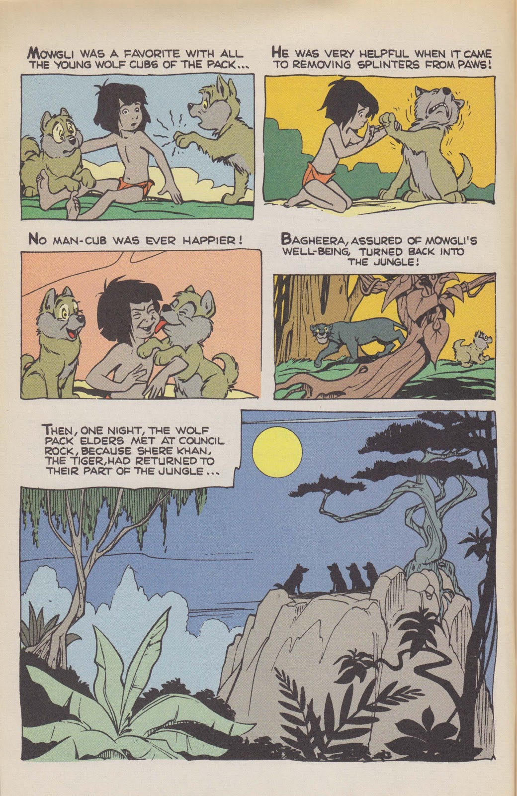 Read online The Jungle Book comic -  Issue # Full - 6