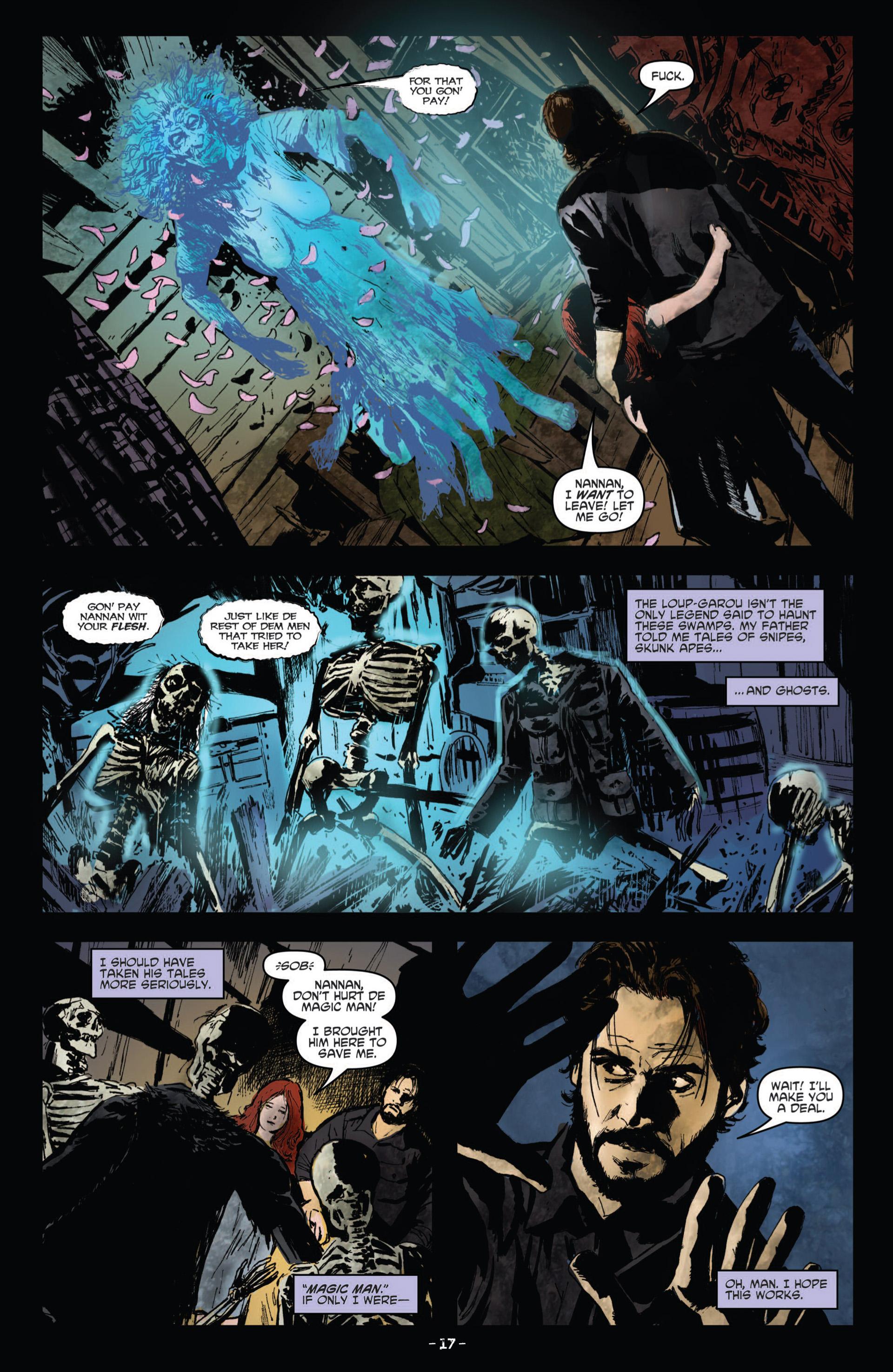 Read online True Blood (2012) comic -  Issue #10 - 19