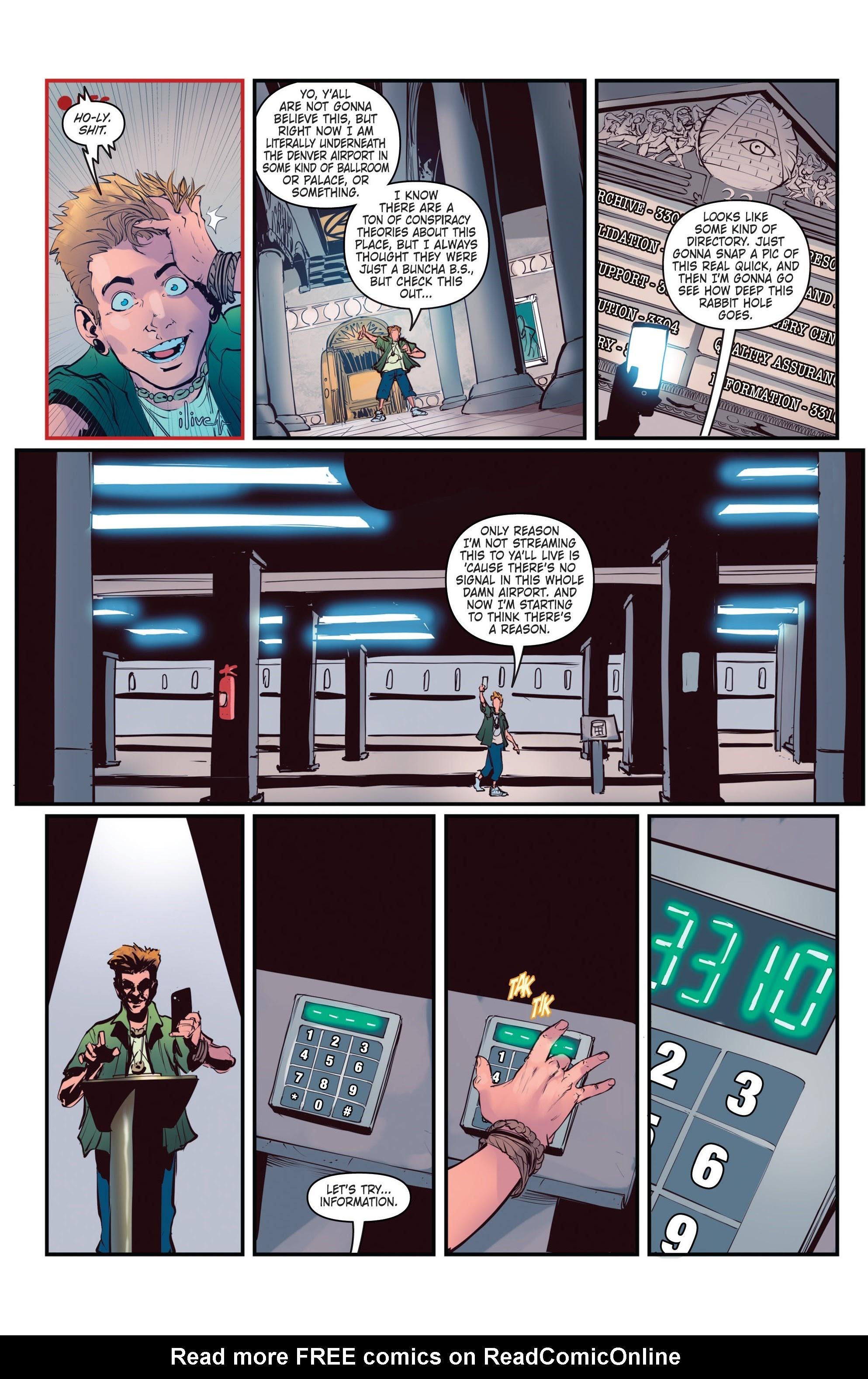 Conspiracy #3 #3 - English 17