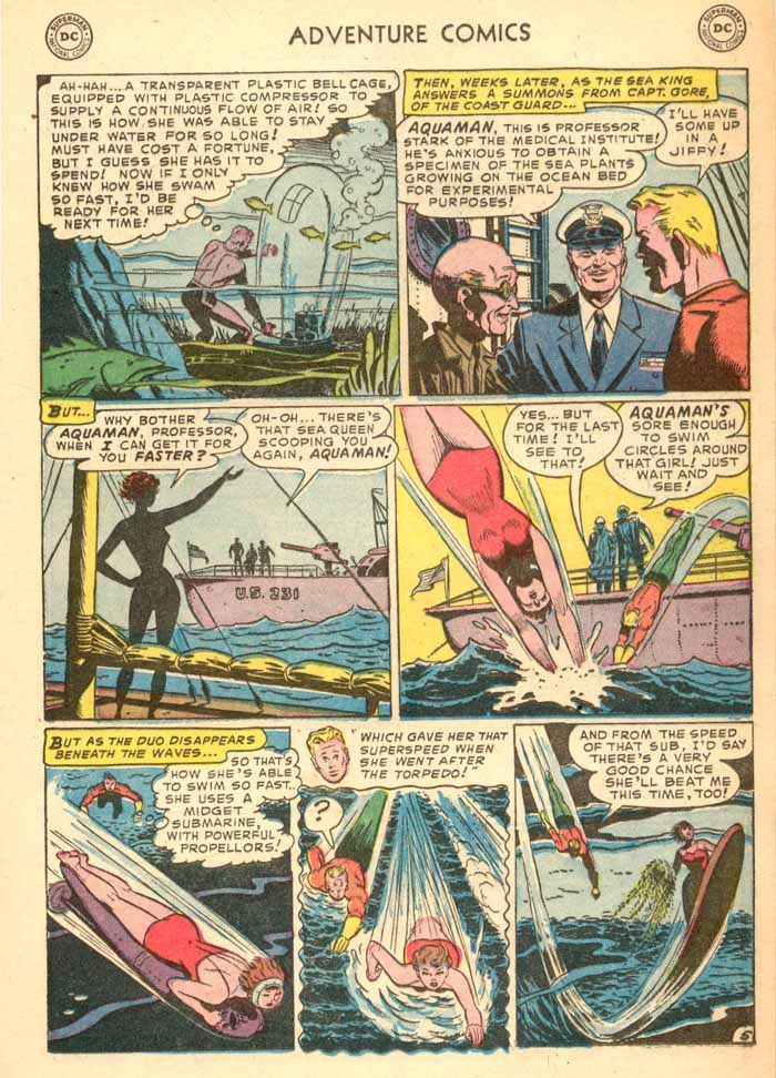 Read online Adventure Comics (1938) comic -  Issue #187 - 21