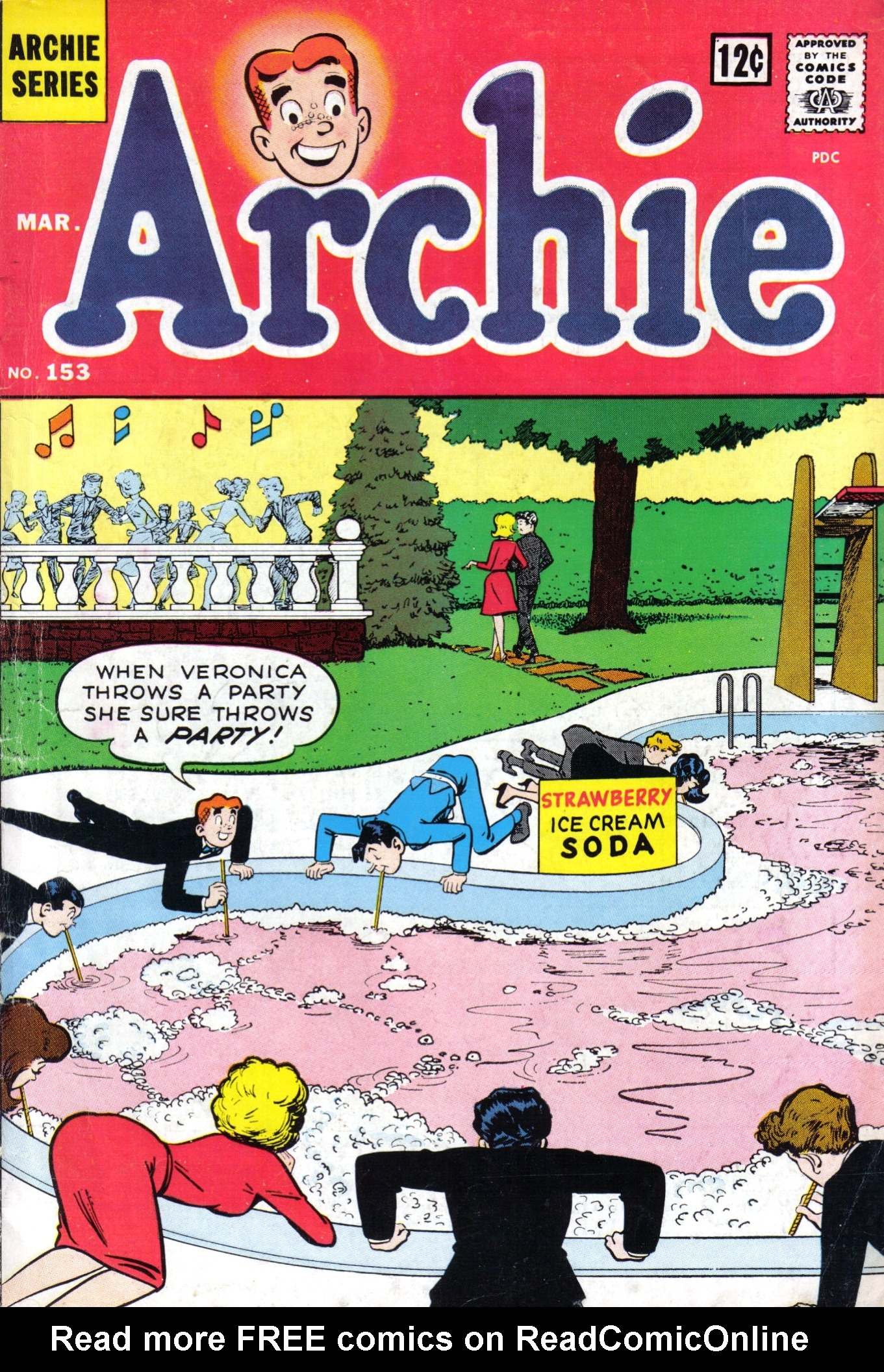 Read online Archie (1960) comic -  Issue #153 - 1