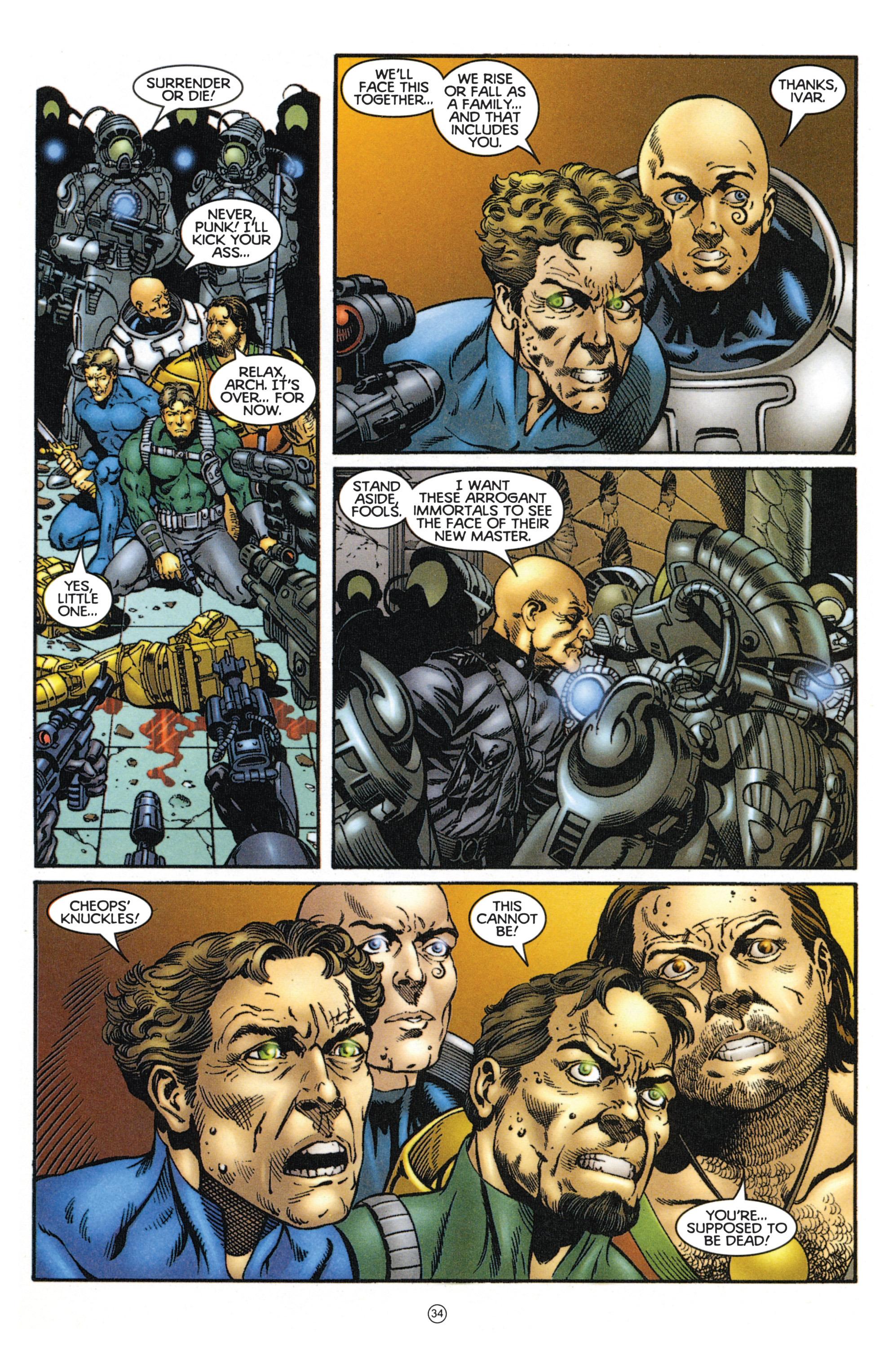 Read online Eternal Warriors comic -  Issue # Issue Mog - 30