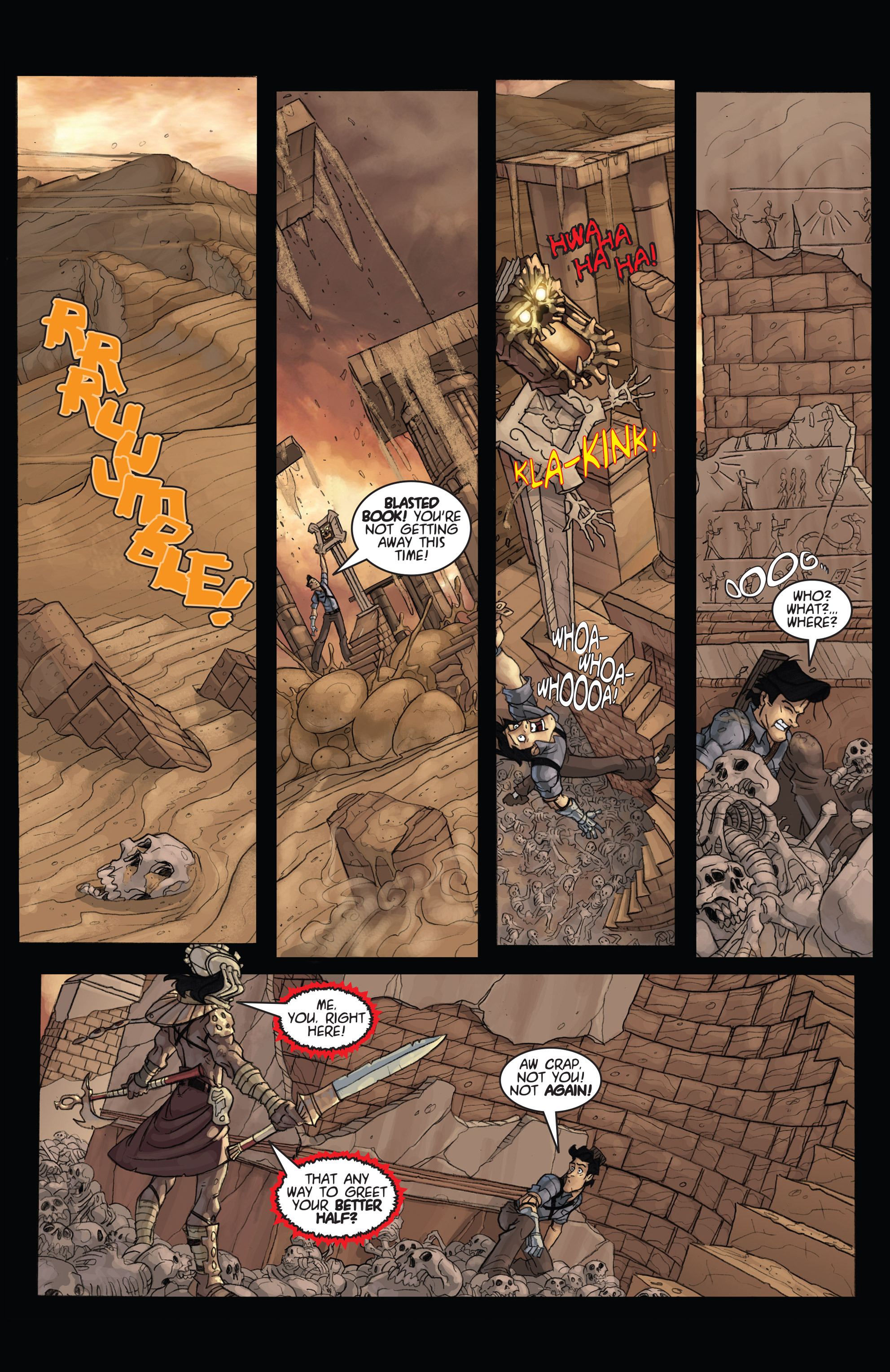 Read online Army of Darkness: Ashes 2 Ashes comic -  Issue #4 - 12