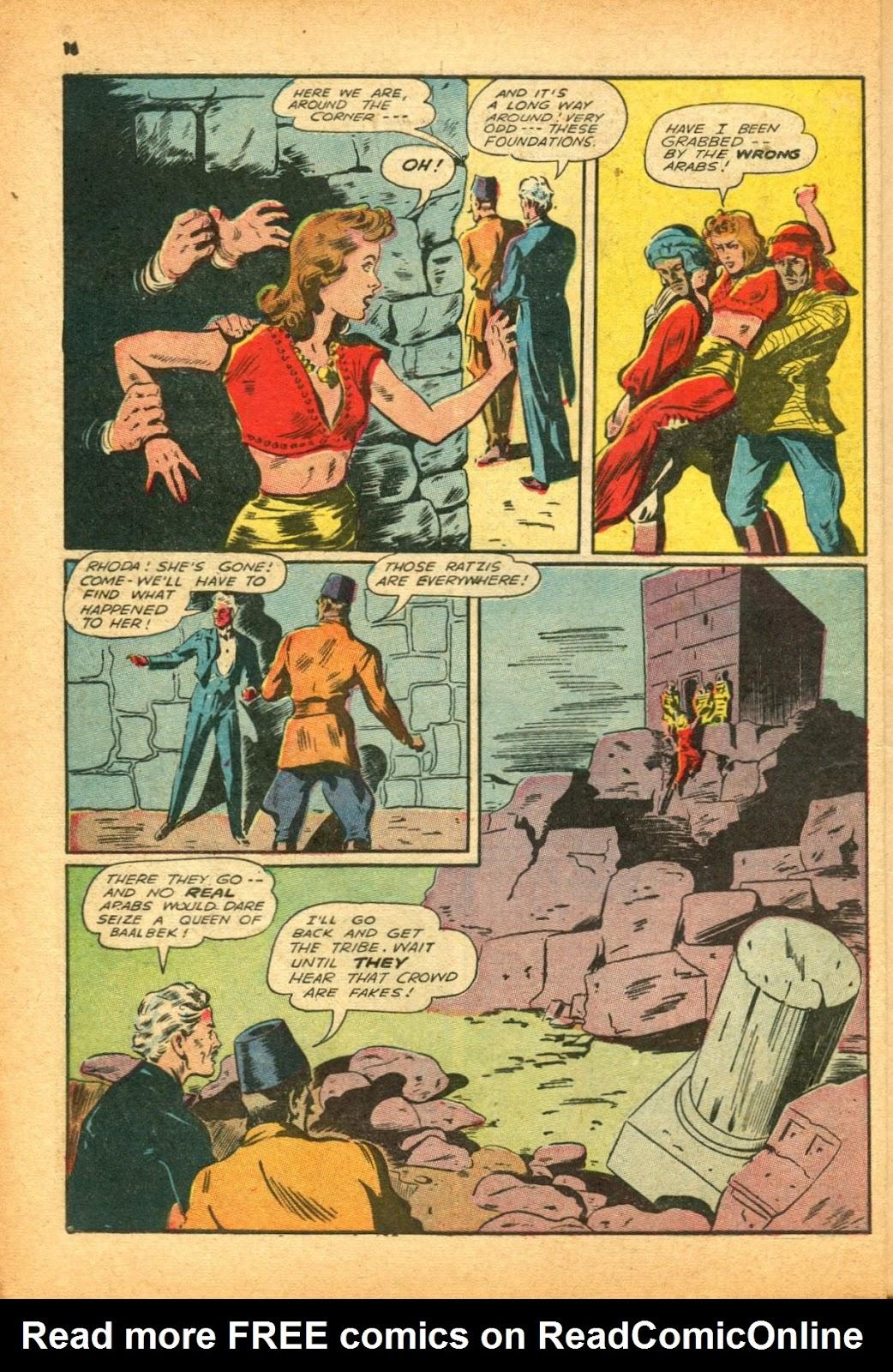 Read online Super-Magician Comics comic -  Issue #12 - 16