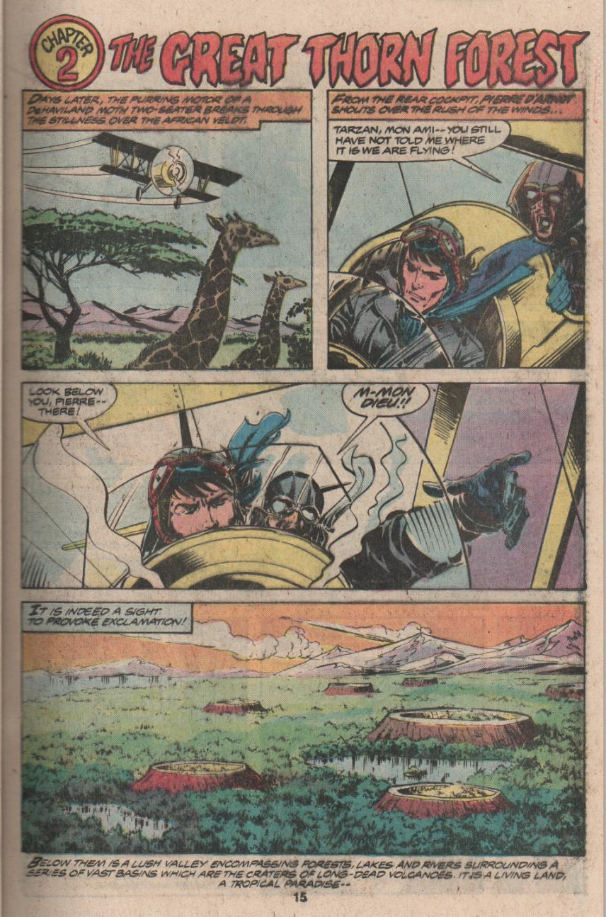 Read online Tarzan (1977) comic -  Issue # _Annual 3 - 12