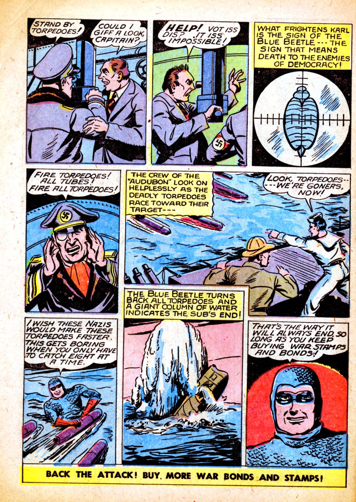The Blue Beetle issue 31 - Page 12