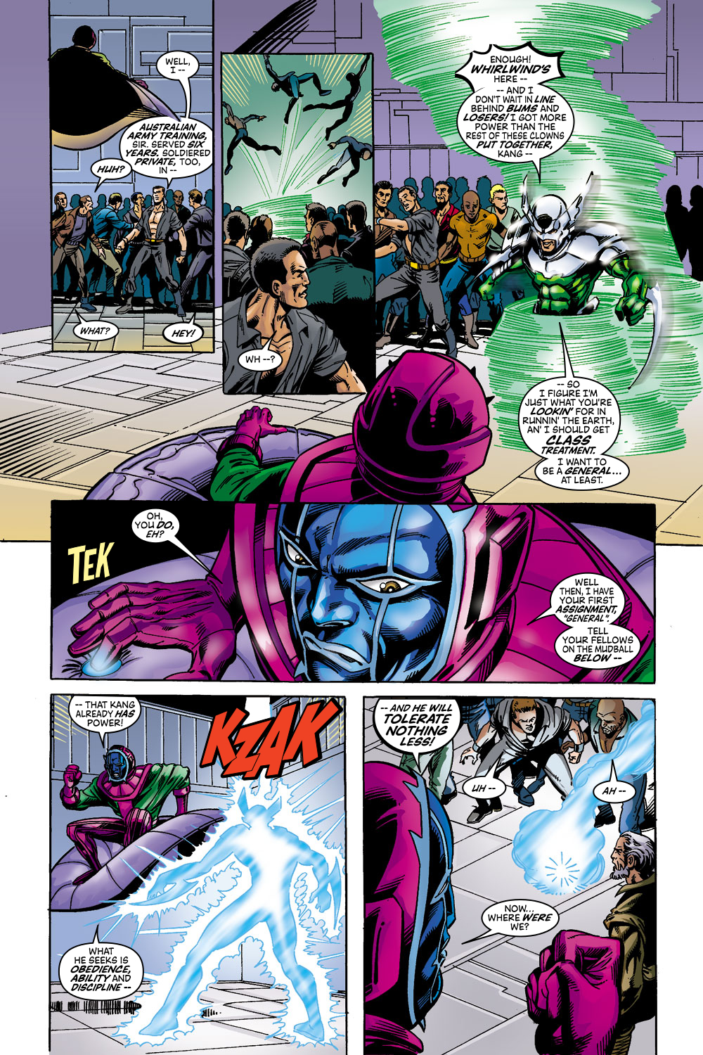 Read online Avengers (1998) comic -  Issue #44 - 12