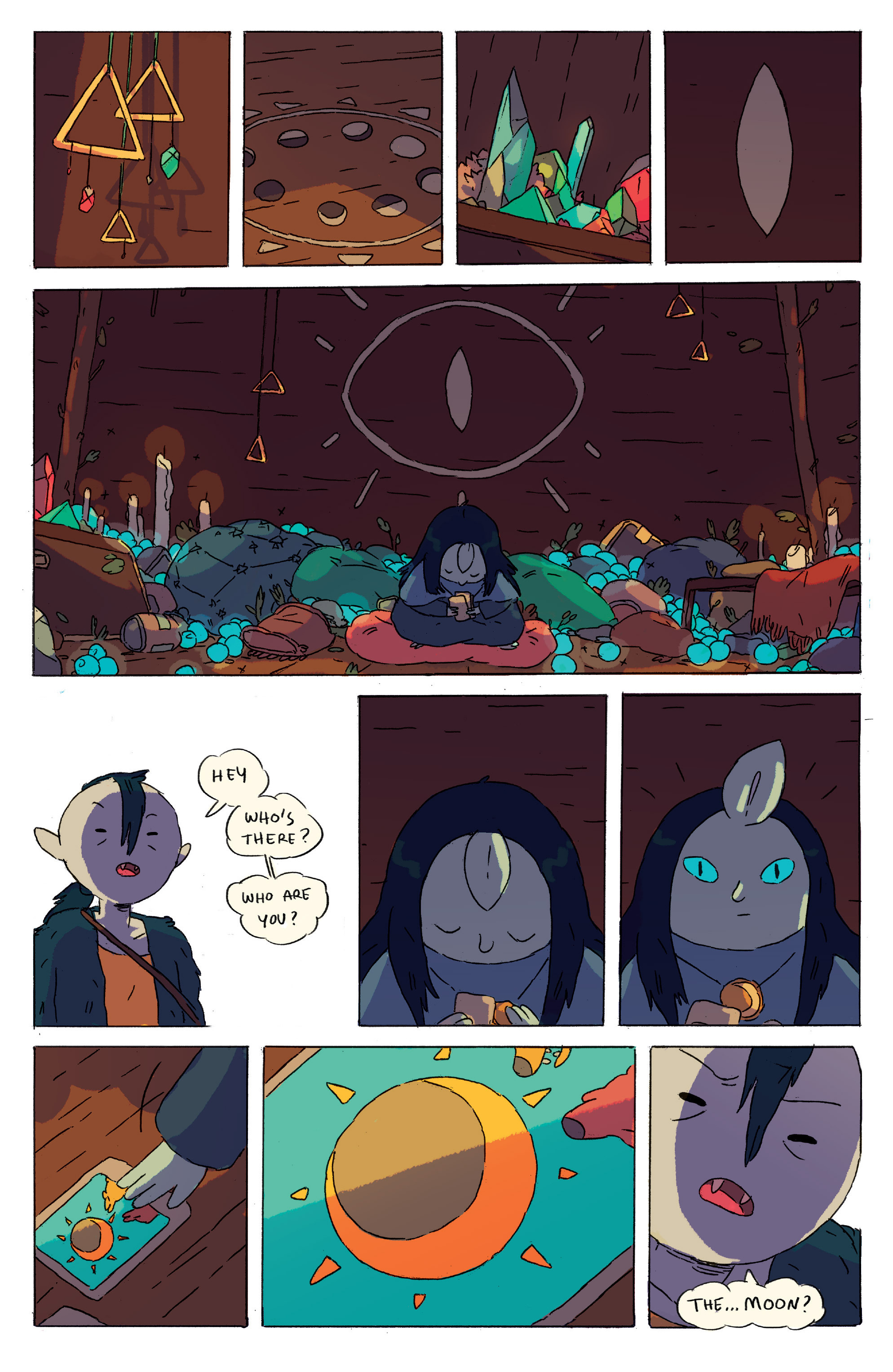Read online Adventure Time comic -  Issue # _2015 Spoooktacular - 24