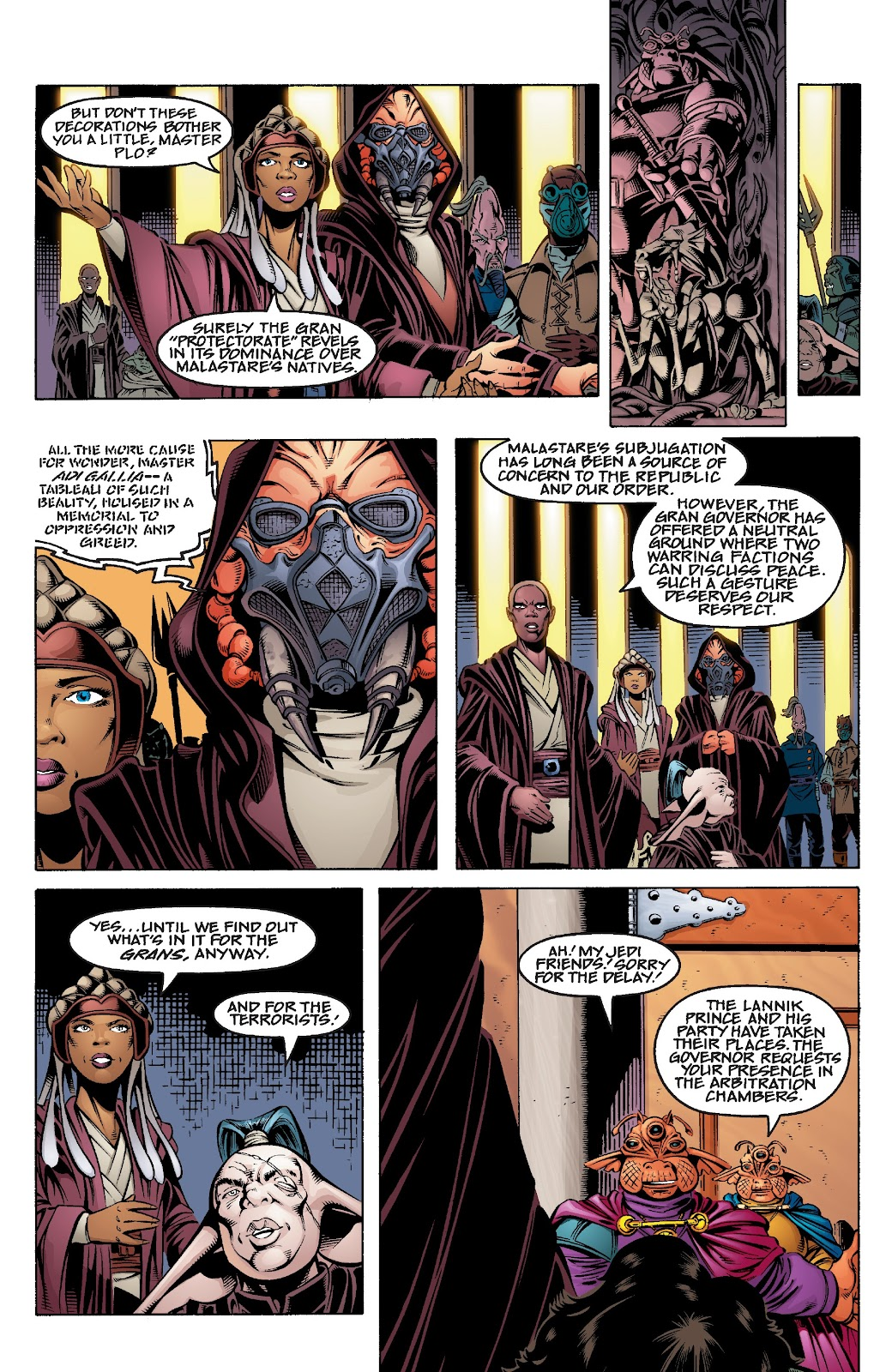 Read online Star Wars Legends Epic Collection: The Menace Revealed comic -  Issue # TPB (Part 3) - 97