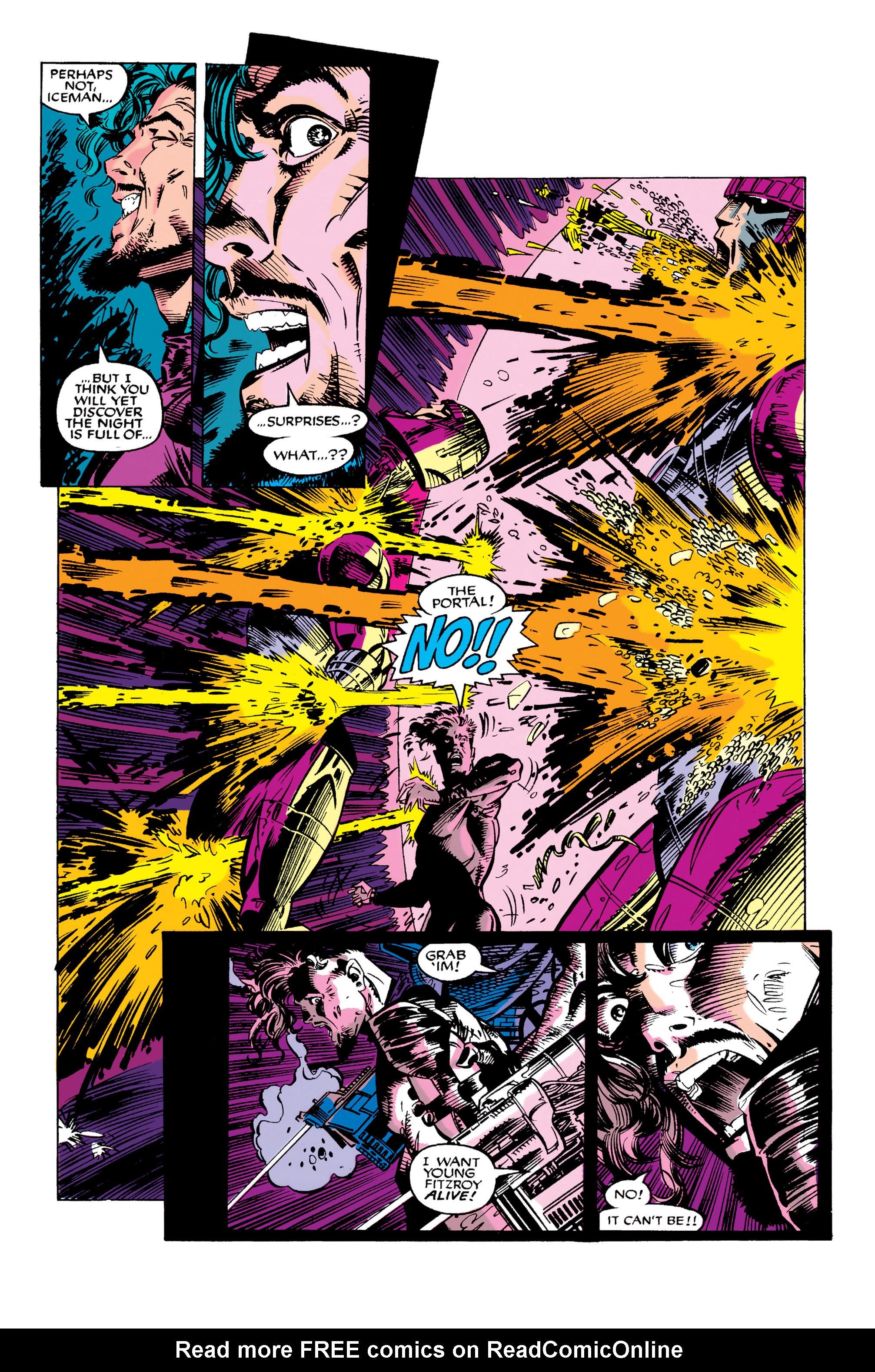 Read online Uncanny X-Men (1963) comic -  Issue #282 - 21