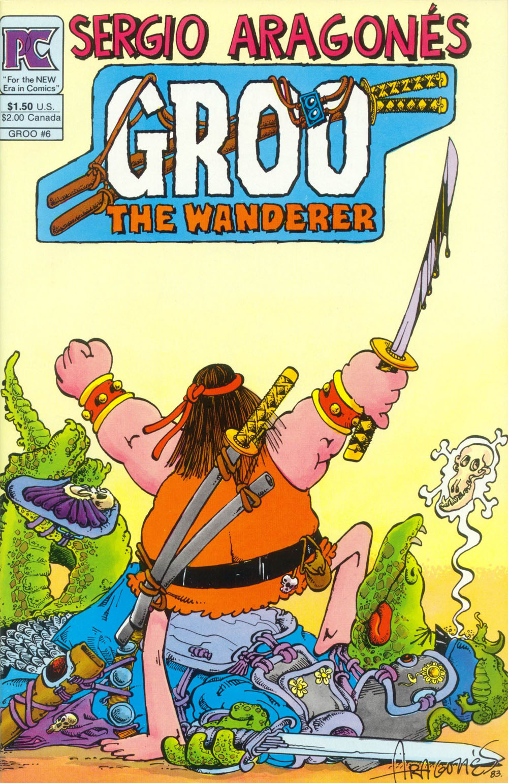 Groo the Wanderer 6 Page 1