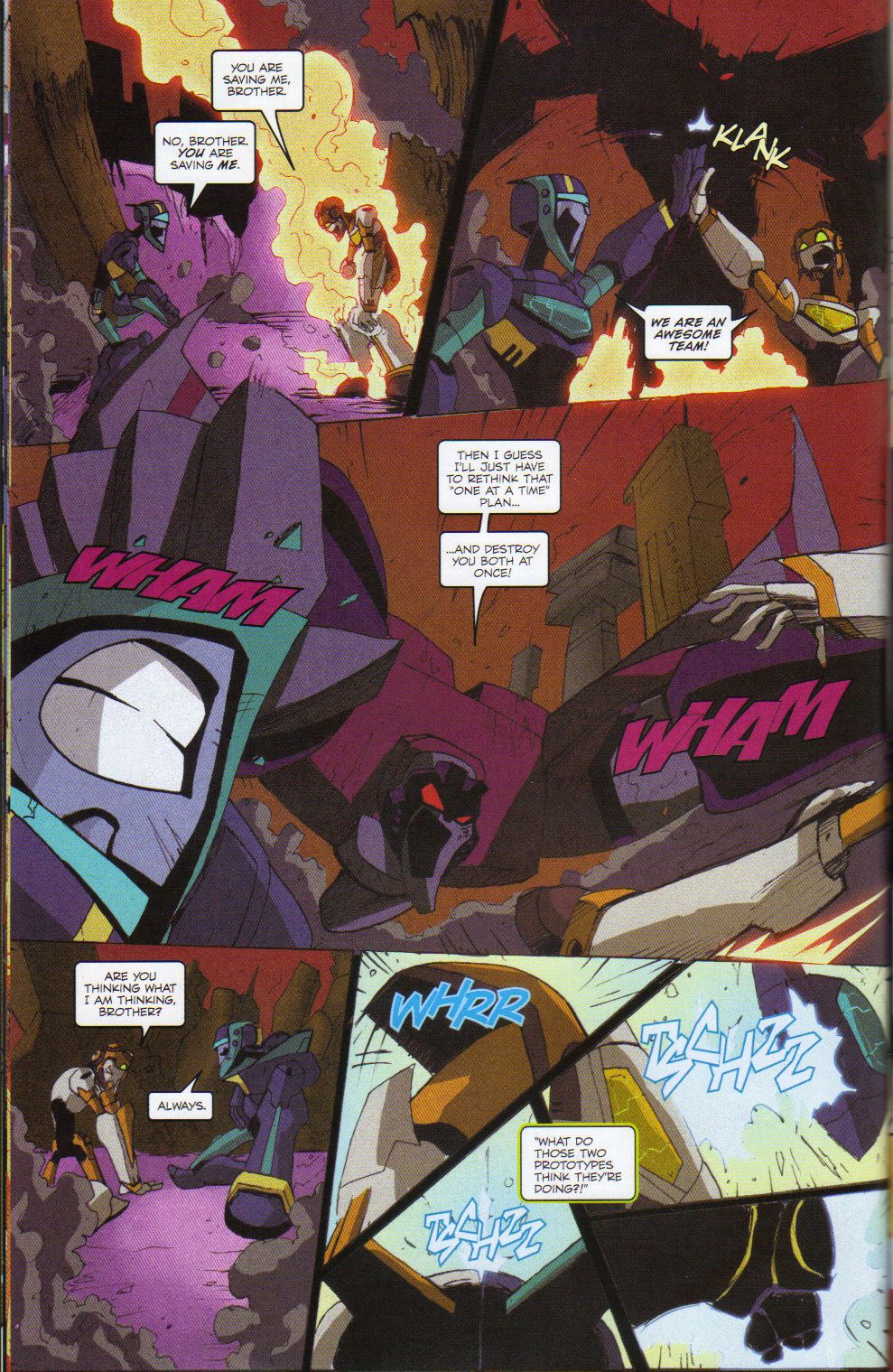 Read online Transformers Animated: The Arrival comic -  Issue #6 - 24
