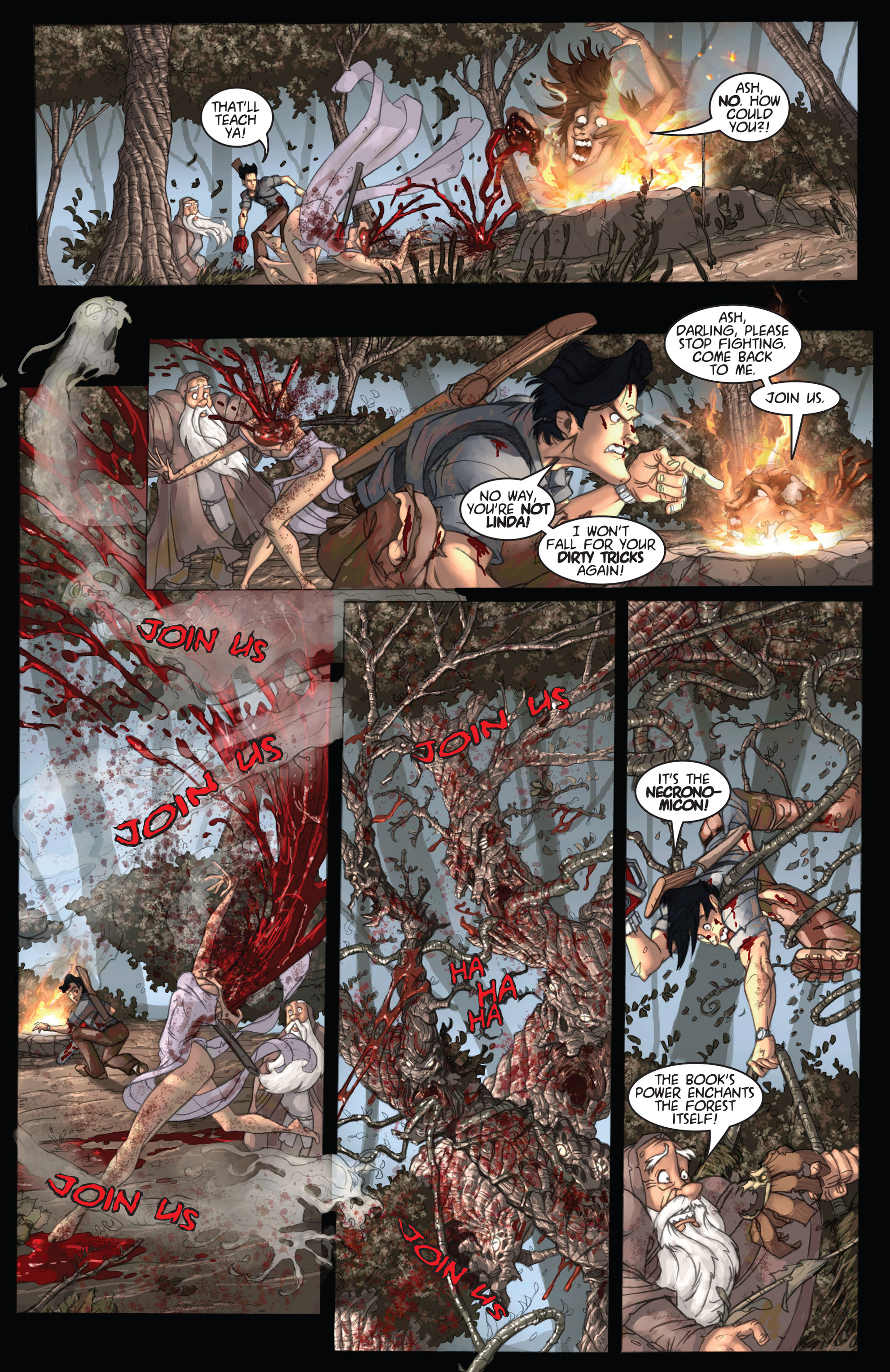 Read online Army of Darkness: Ashes 2 Ashes comic -  Issue #2 - 12