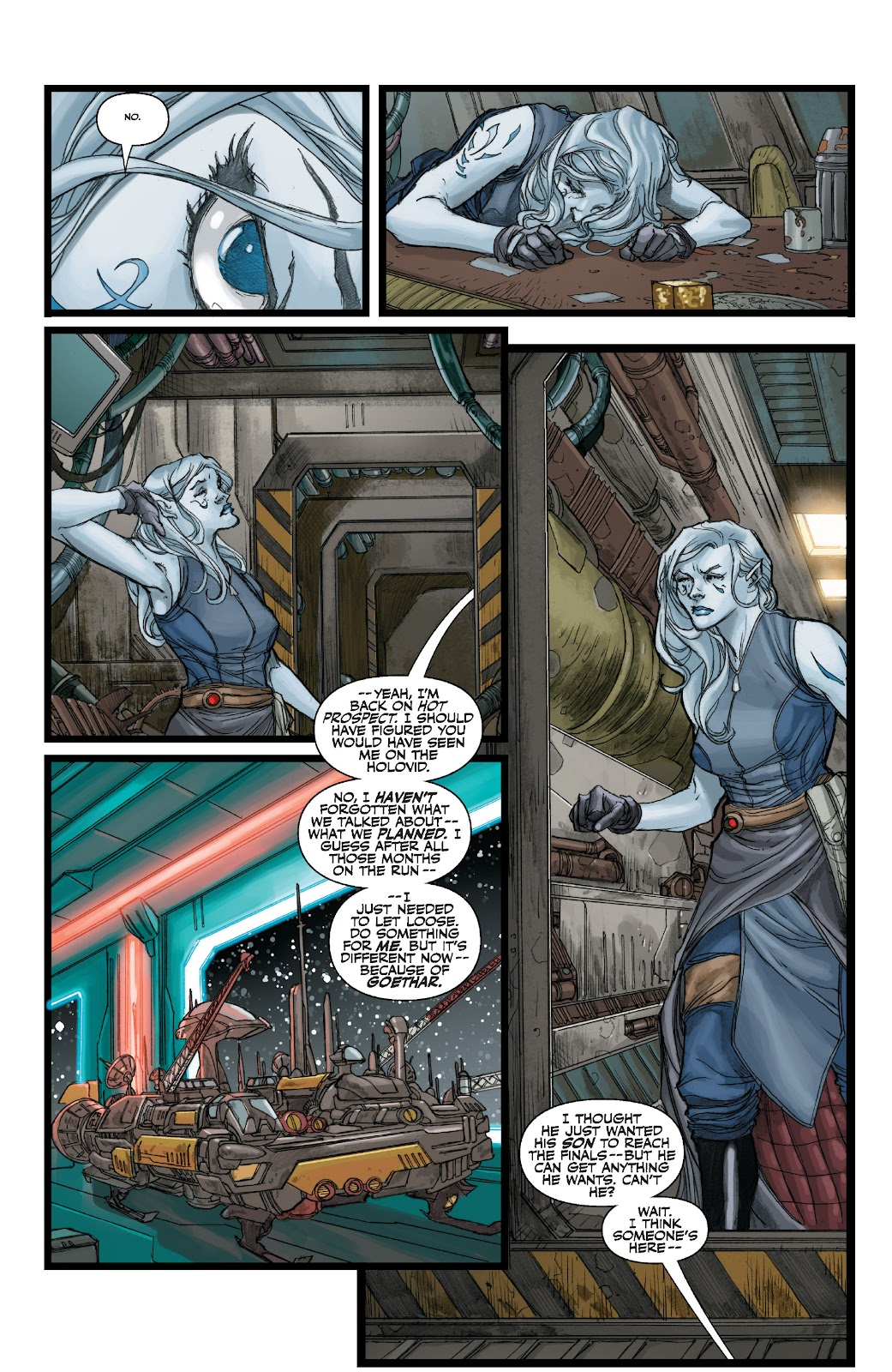 Read online Star Wars Legends: The Old Republic - Epic Collection comic -  Issue # TPB 3 (Part 1) - 65