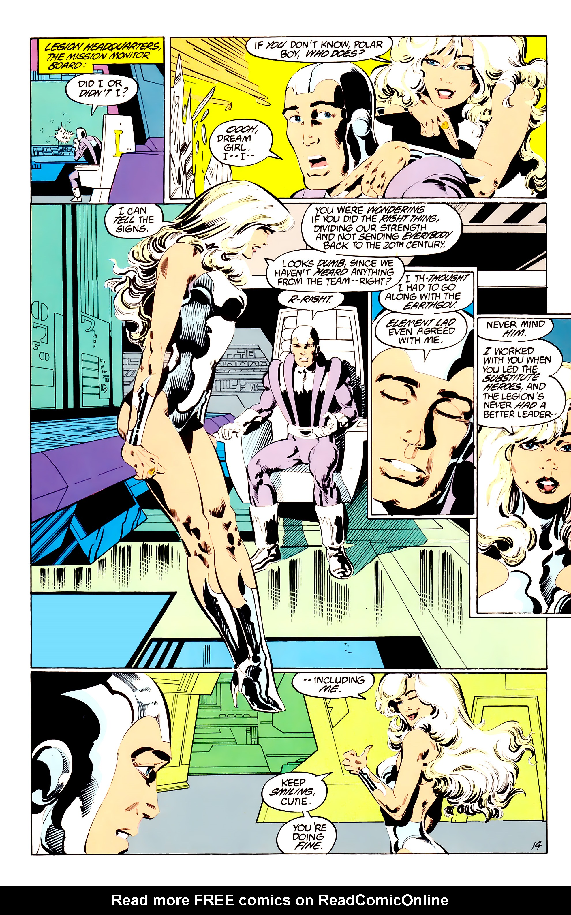 Legion of Super-Heroes (1984) 38 Page 14