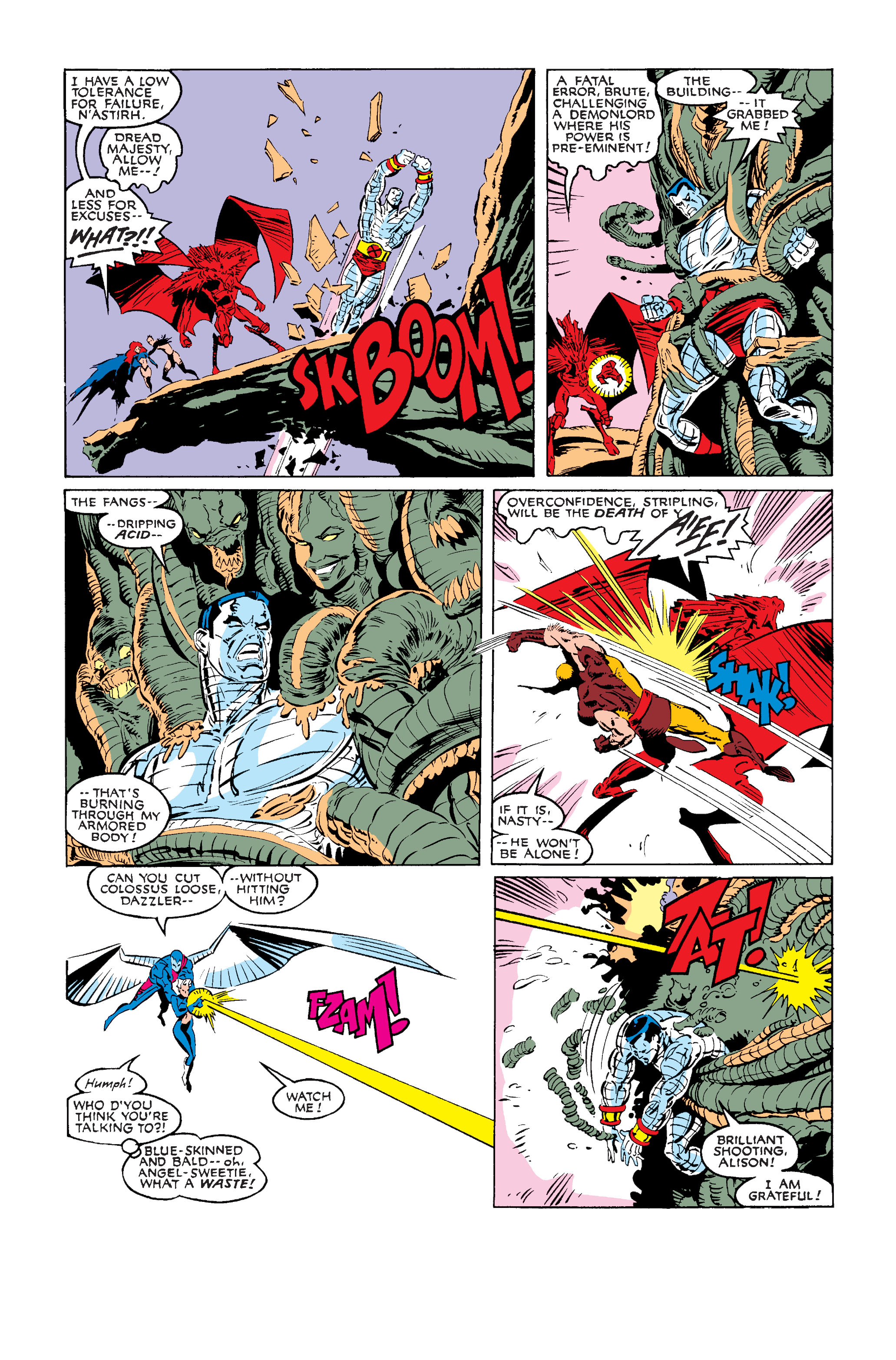 Read online Uncanny X-Men (1963) comic -  Issue #242 - 31