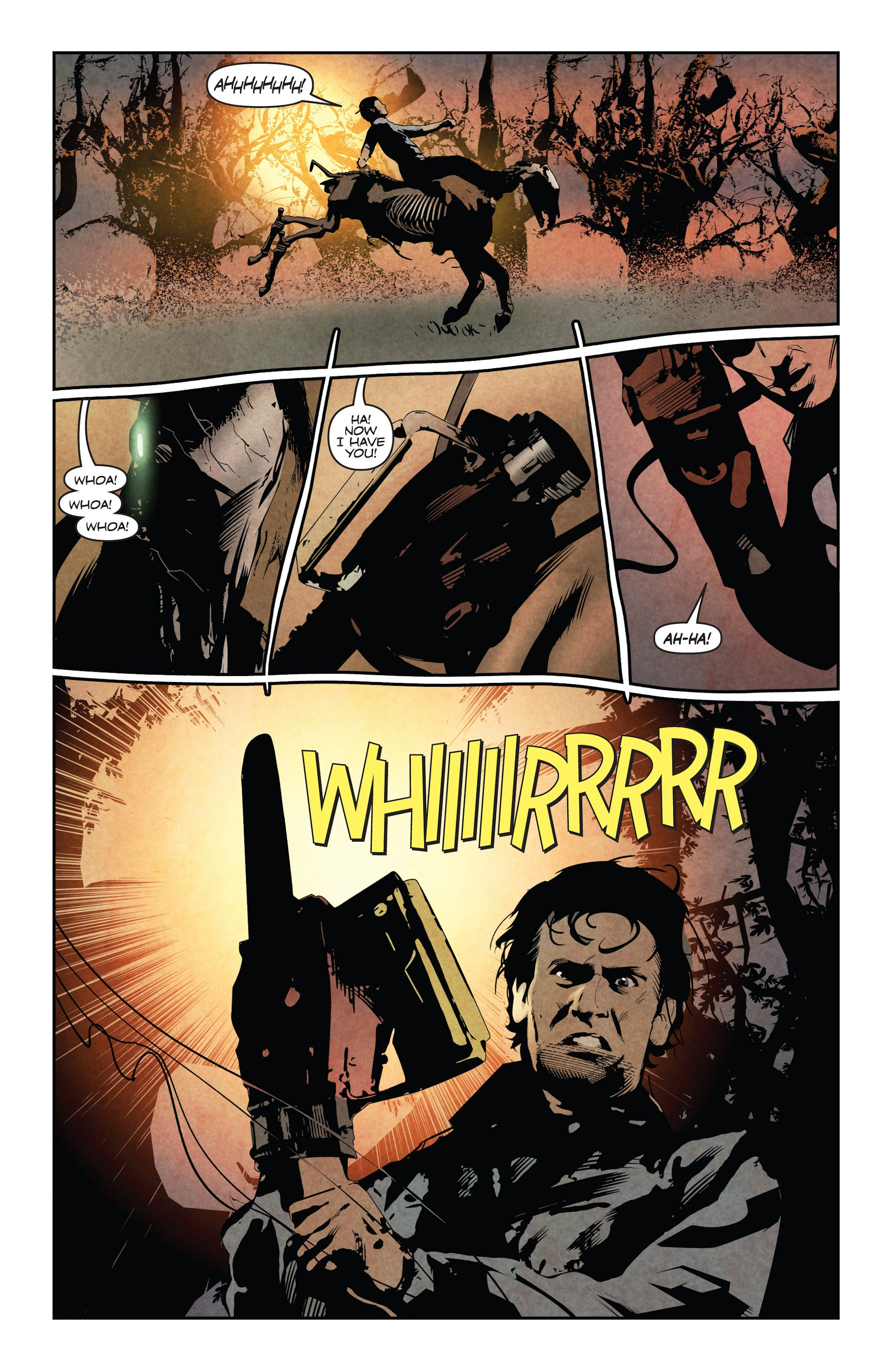 Read online Ash and the Army of Darkness comic -  Issue #4 - 10