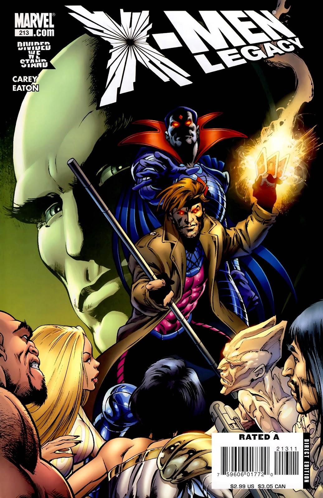 X-Men Legacy (2008) 213 Page 1