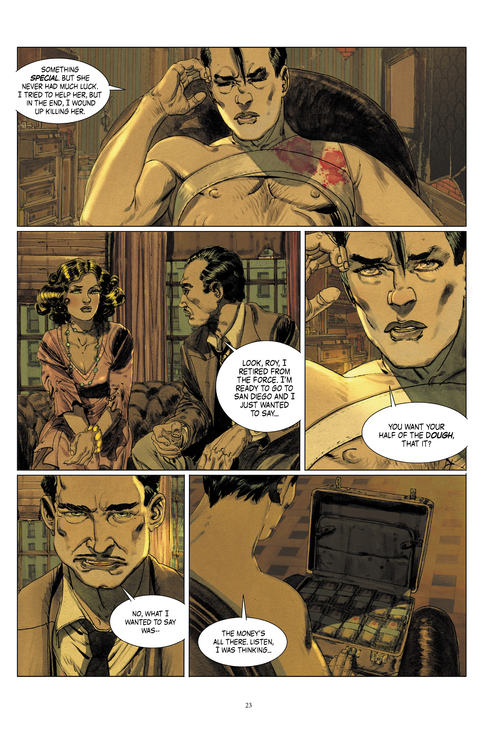 Read online Triggerman comic -  Issue #5 - 23