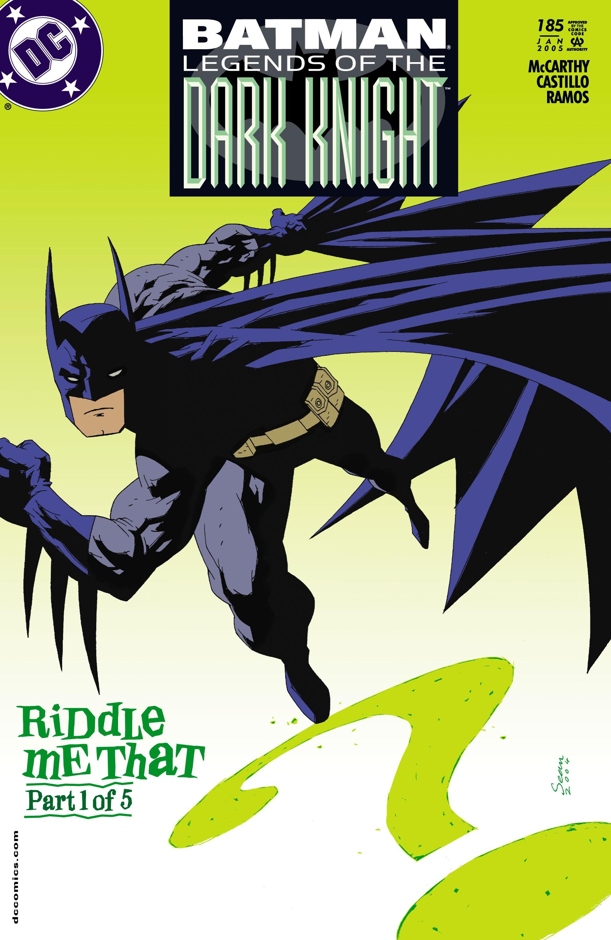 Batman: Legends of the Dark Knight 185 Page 1