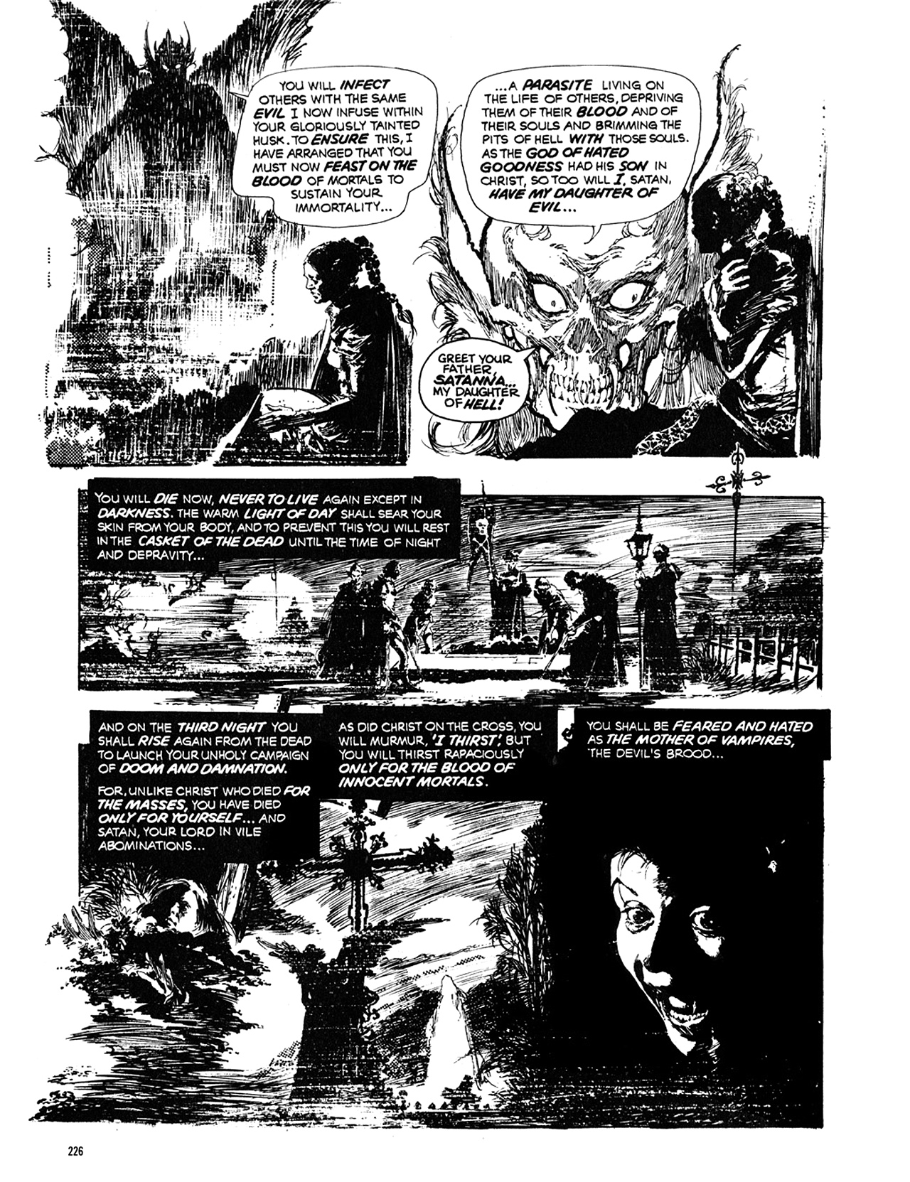 Read online Eerie Archives comic -  Issue # TPB 10 - 227