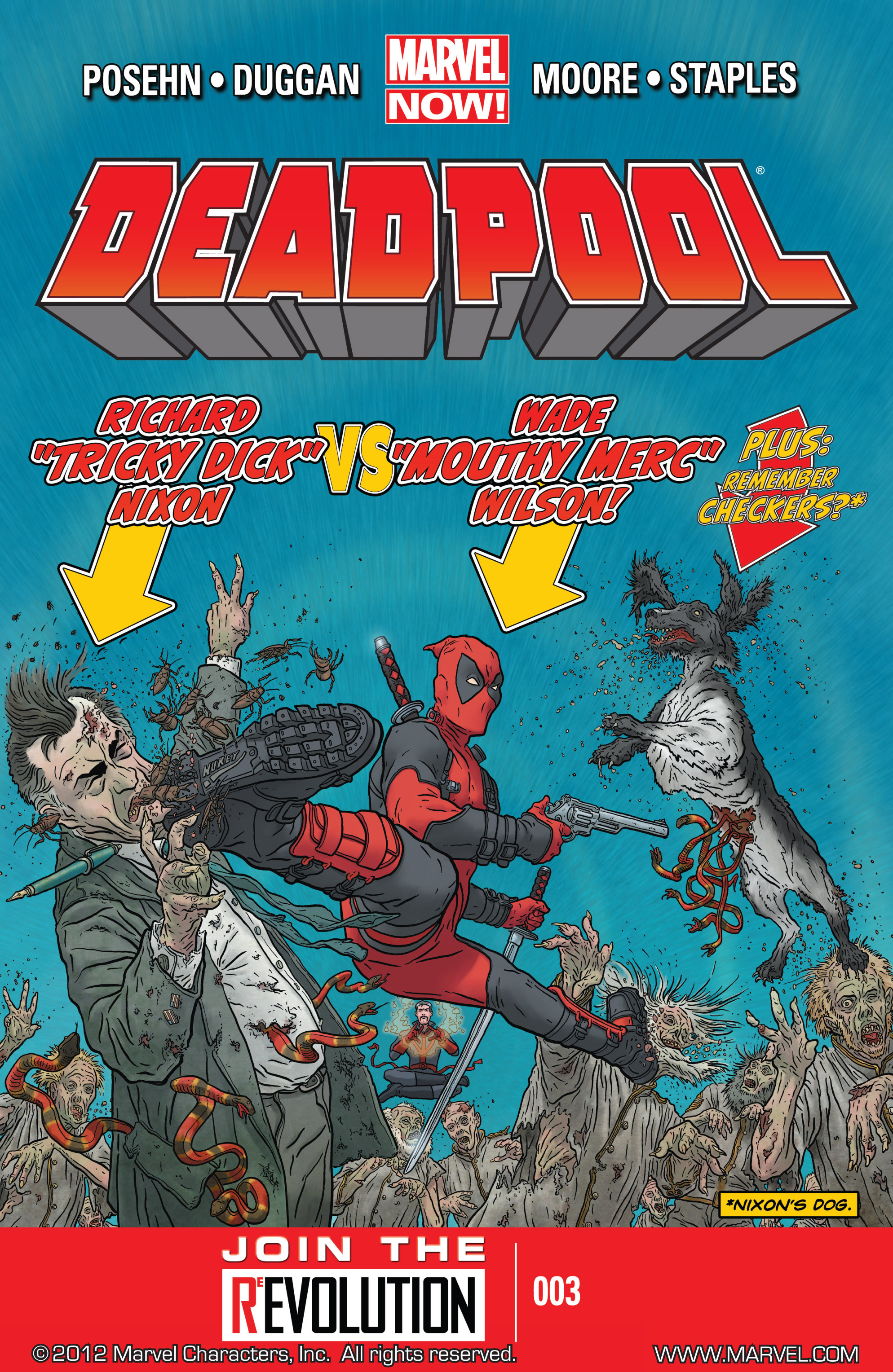 Deadpool (2013) issue 3 - Page 1