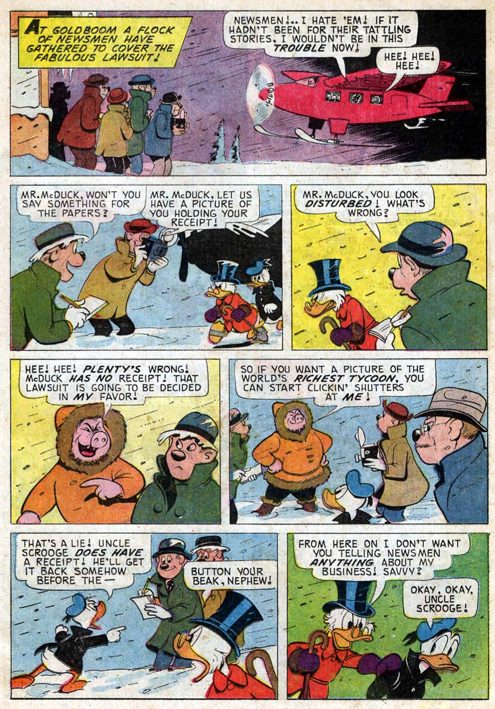 Read online Uncle Scrooge (1953) comic -  Issue #59 - 13