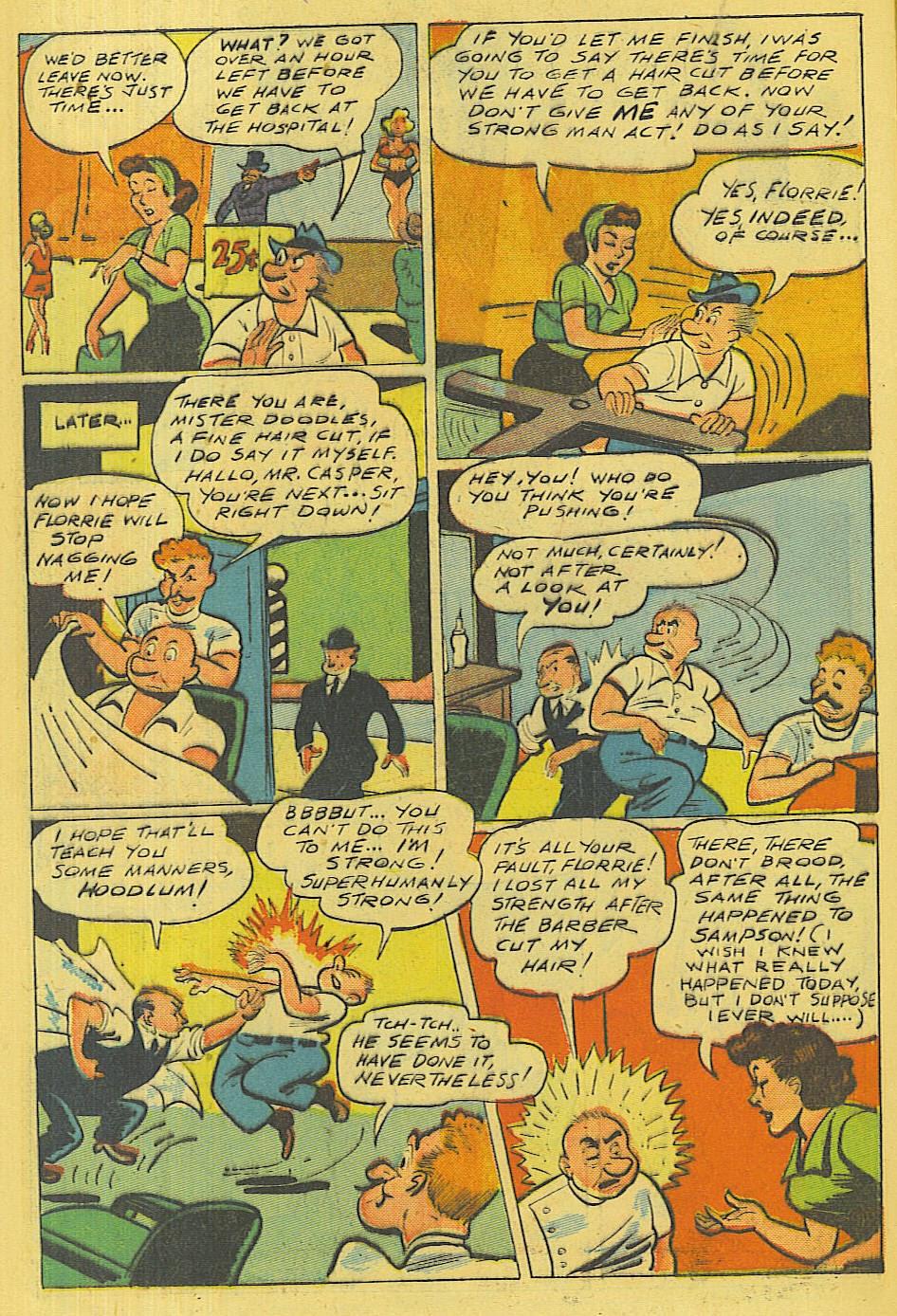 Read online Super-Magician Comics comic -  Issue #42 - 41