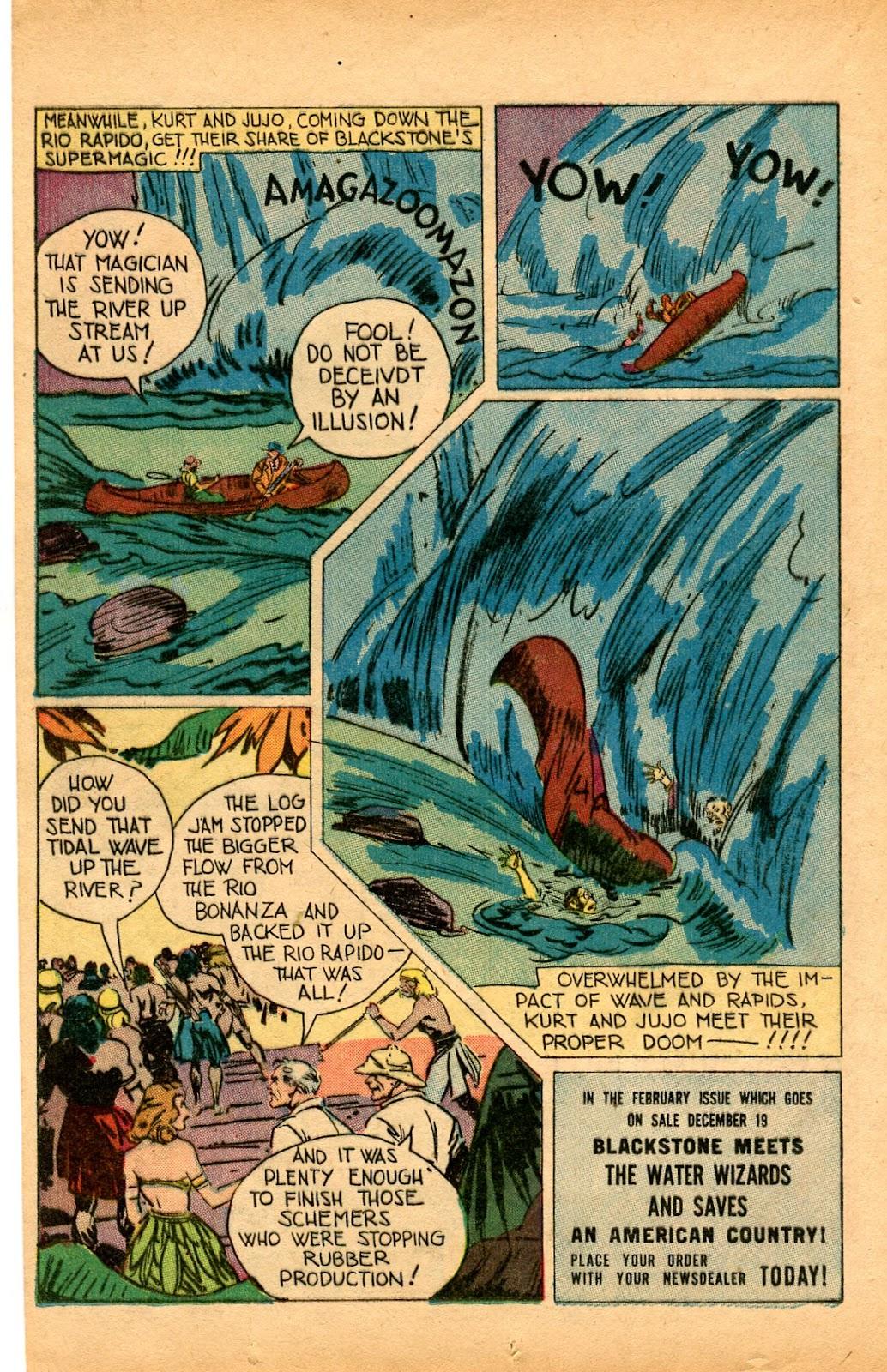 Read online Super-Magician Comics comic -  Issue #33 - 16