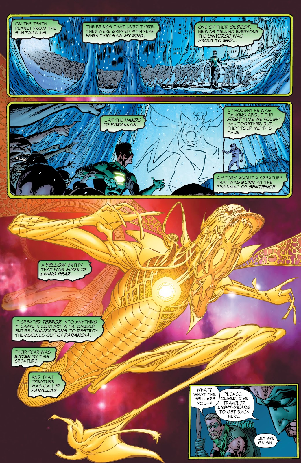 Read online Green Lantern by Geoff Johns comic -  Issue # TPB 1 (Part 1) - 80