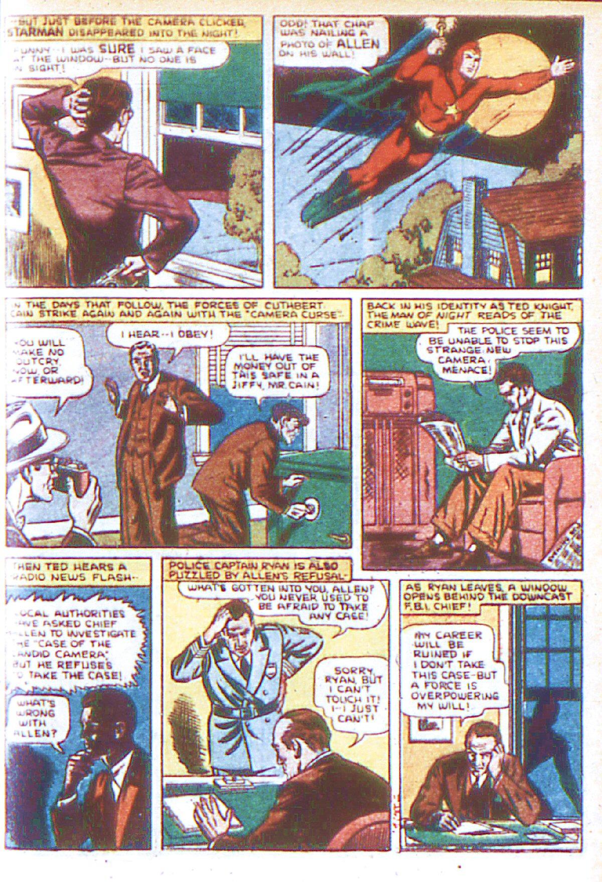 Read online Adventure Comics (1938) comic -  Issue #66 - 10
