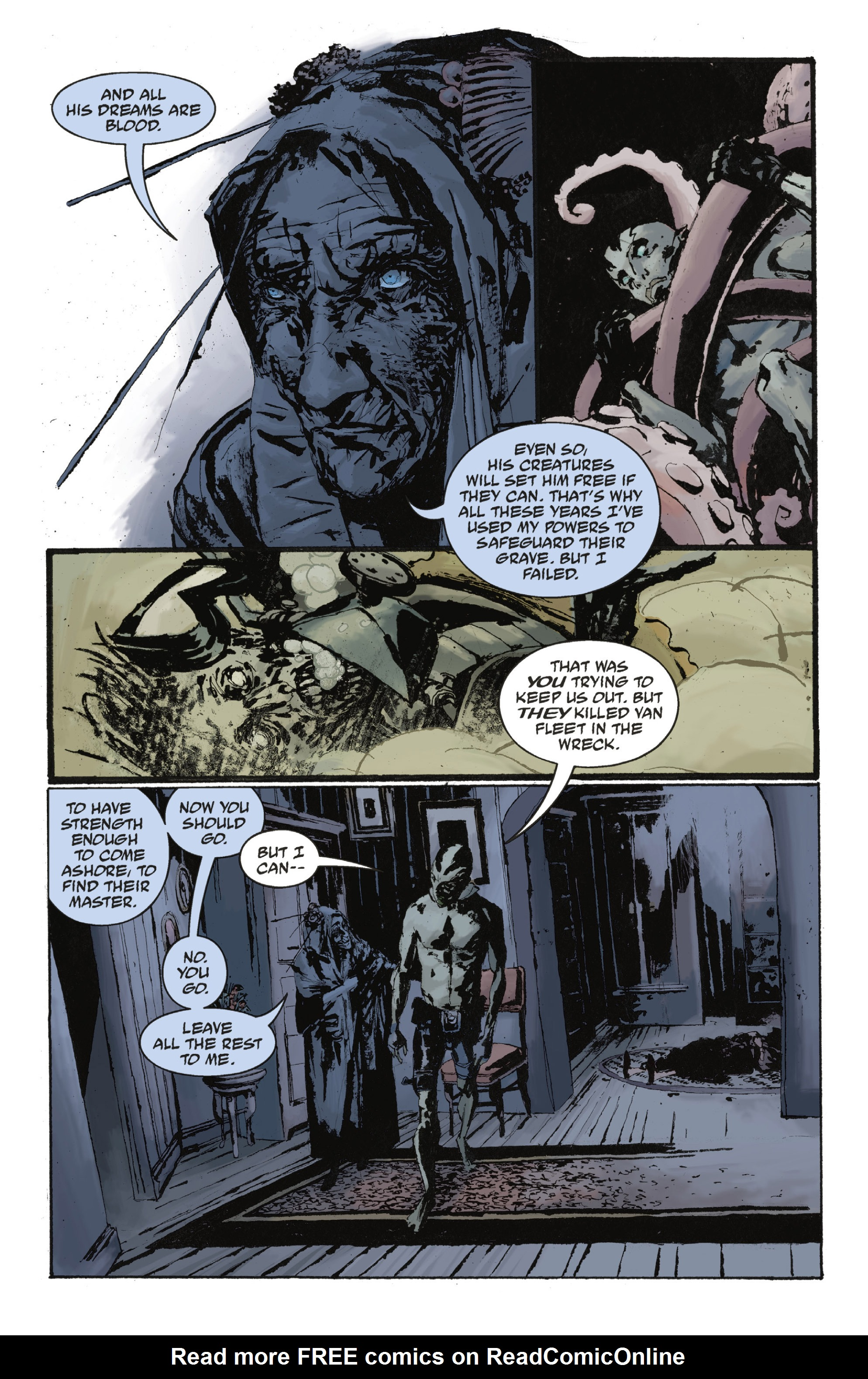 Read online Abe Sapien: The Drowning comic -  Issue #Abe Sapien: The Drowning _TPB - 106