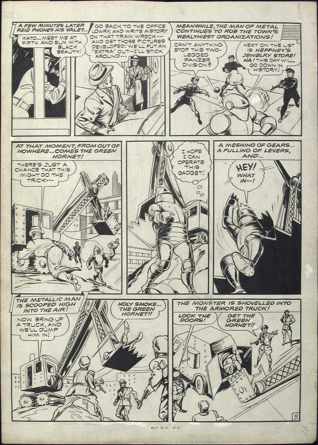 Green Hornet Comics issue 9 - Page 5