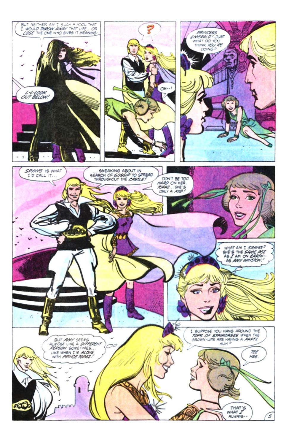 Read online Amethyst, Princess of Gemworld comic -  Issue #10 - 6
