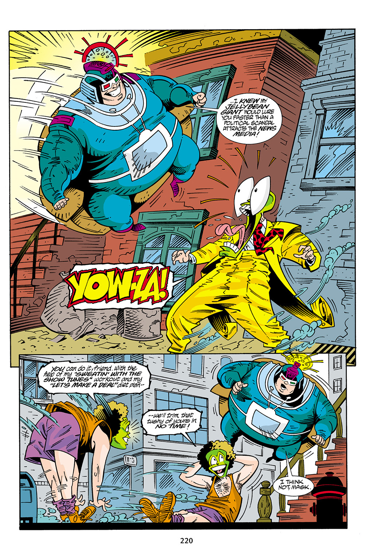 Read online Adventures Of The Mask Omnibus comic -  Issue #Adventures Of The Mask Omnibus Full - 219