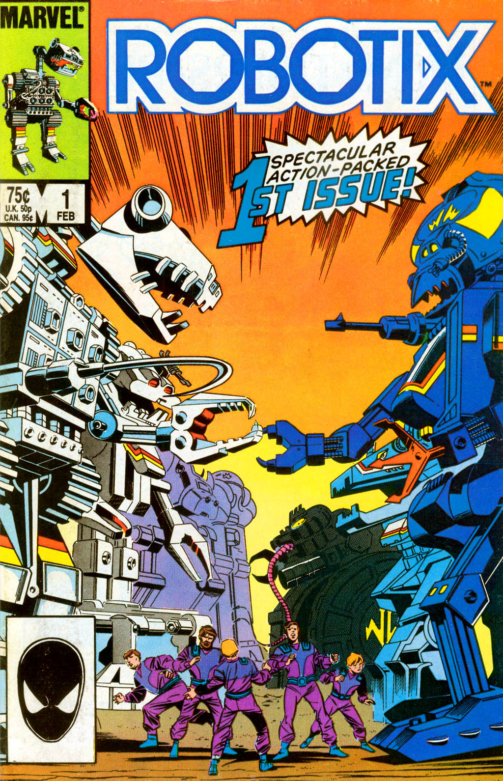 Read online Robotix comic -  Issue # Full - 1